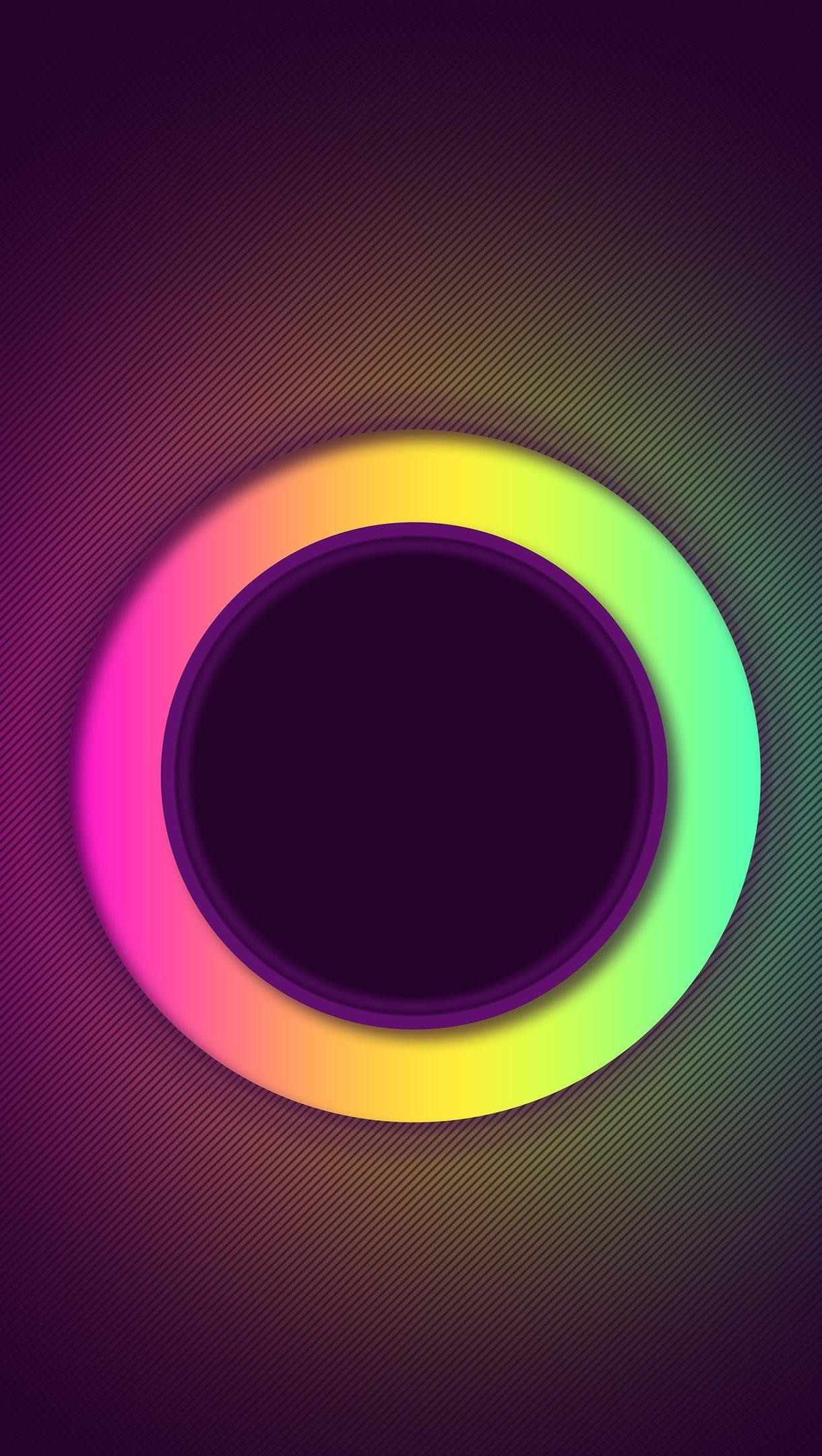 Wallpaper Ring of colors Vertical