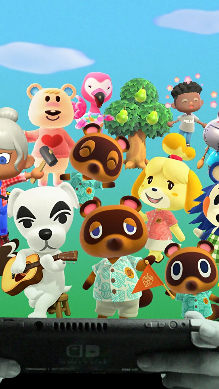 Animal Crossing New Horizons Nintendo Switch Fondo de ...