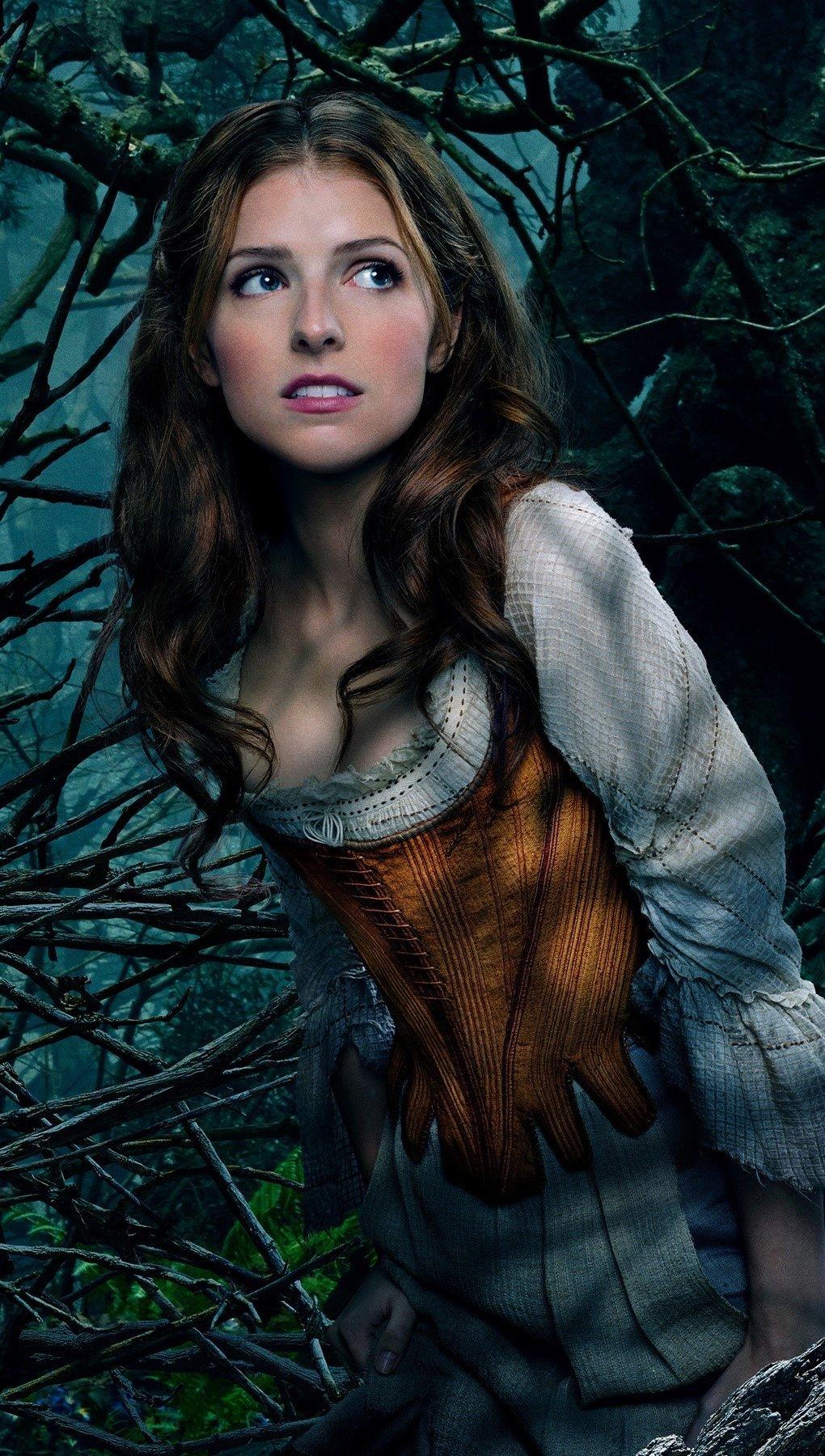 Wallpaper Anna kendrick as Cinderella Vertical