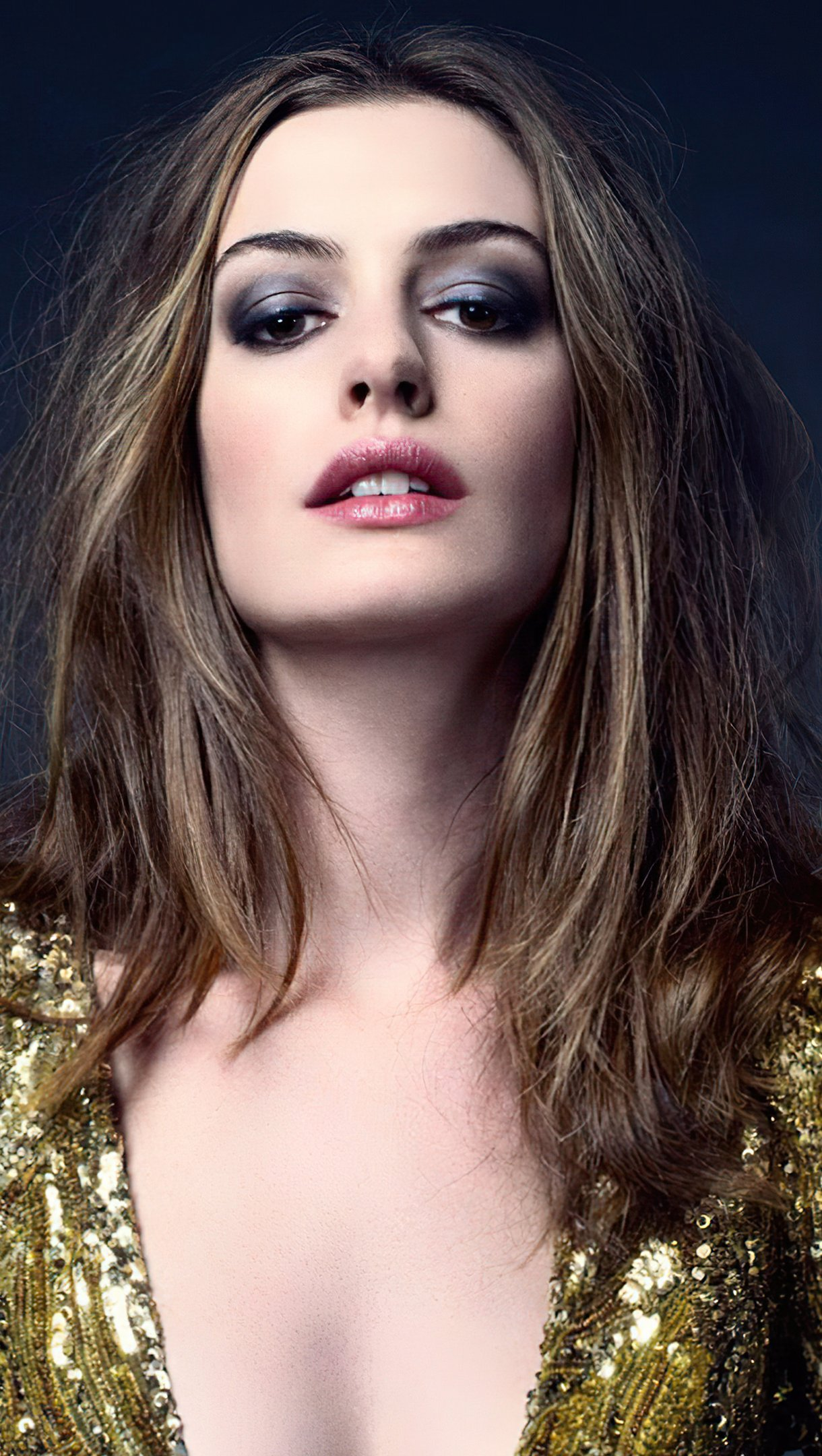 Wallpaper Anne Hathaway Elle Photoshoot Vertical