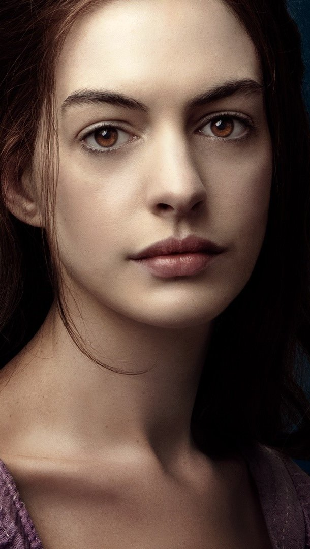 Wallpaper Anne Hathaway in Les miserables Vertical