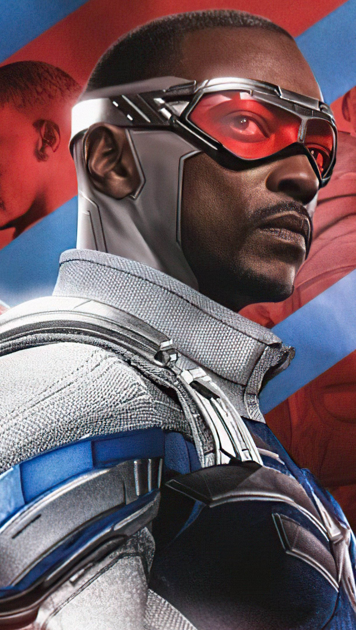 Wallpaper Anthony Macky Falcon and the Winter Soldier Vertical