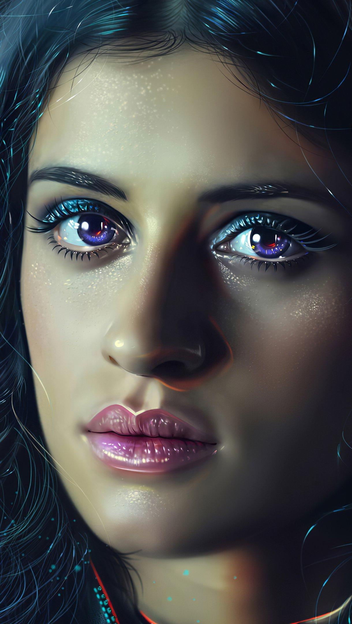 Fondos de pantalla Anya Chalotra como Yennefer en The witcher Vertical