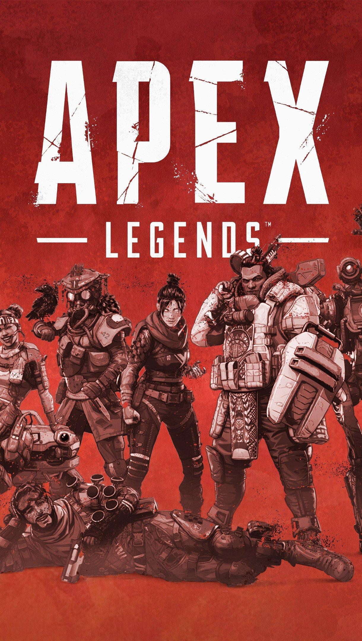 Fondos de pantalla Apex Legends Personajes Vertical