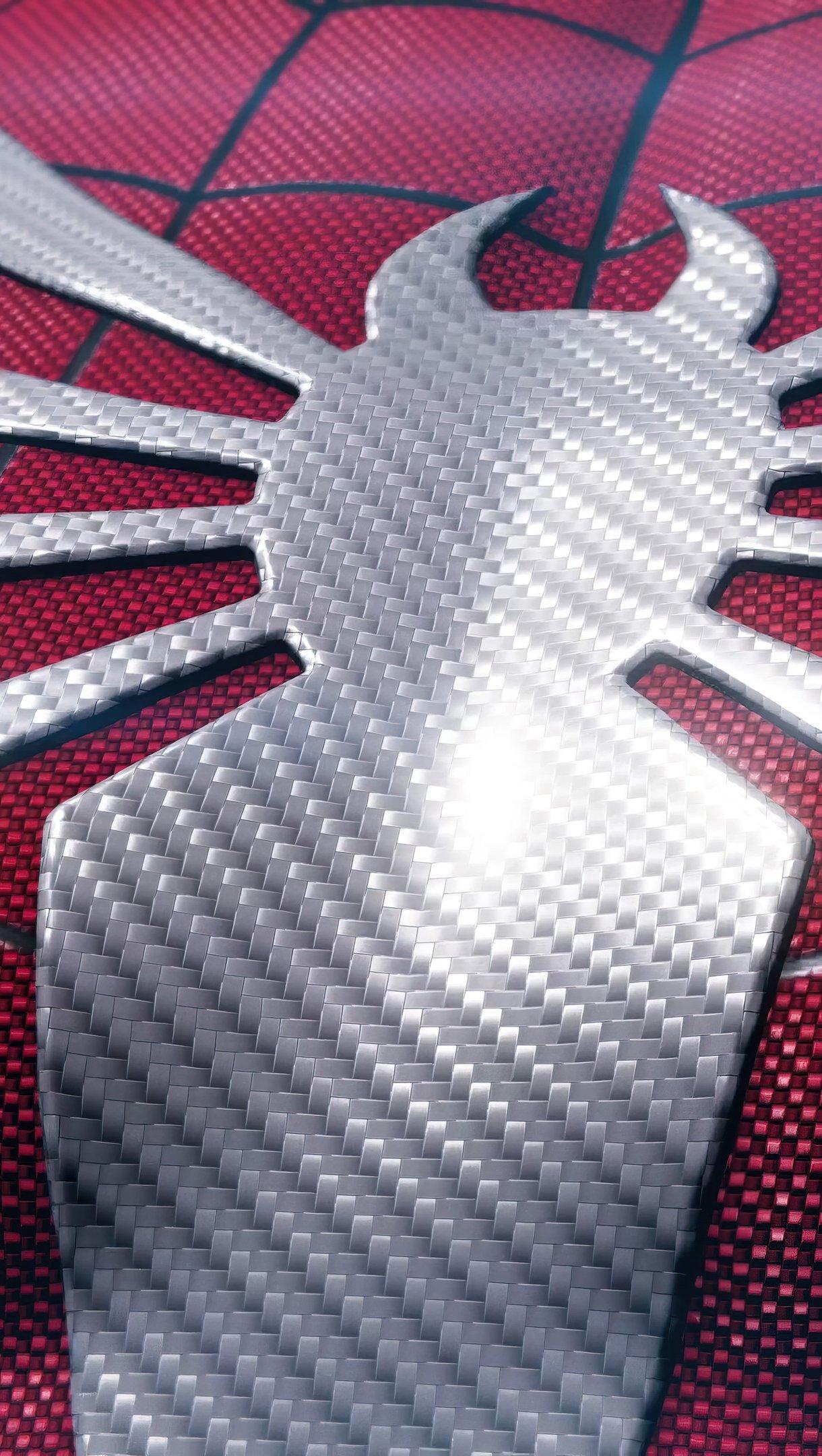 Fondos de pantalla Araña en traje rojo Vertical