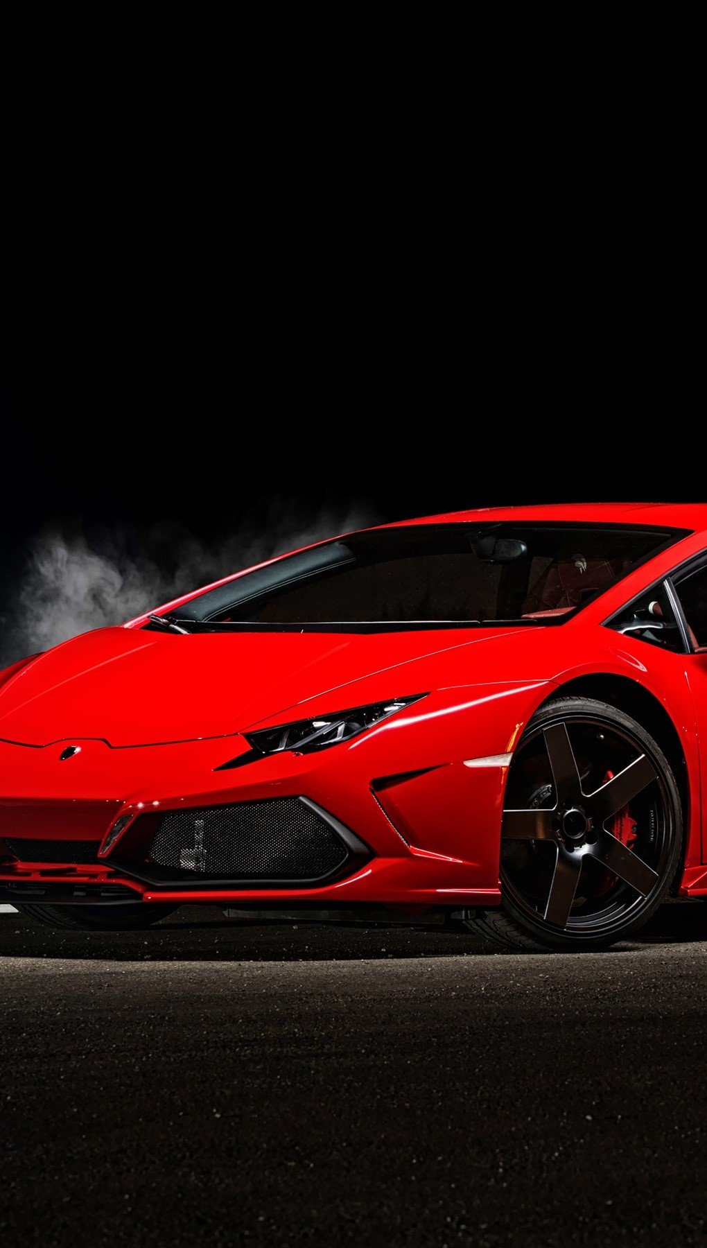Wallpaper Ares Design Lamborghini Huracan Vertical