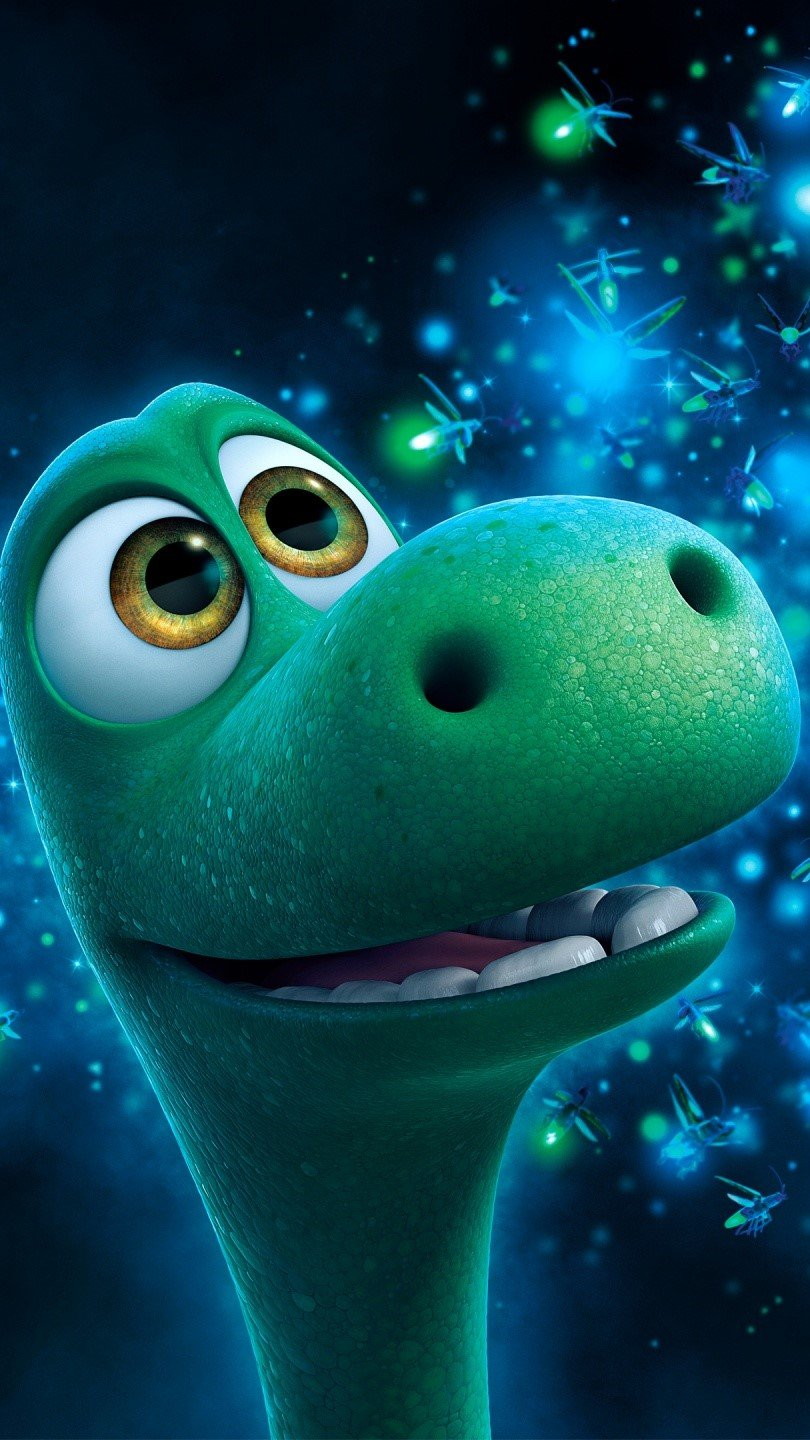 Wallpaper Arlo and Spot in The Great Dinosaur Vertical