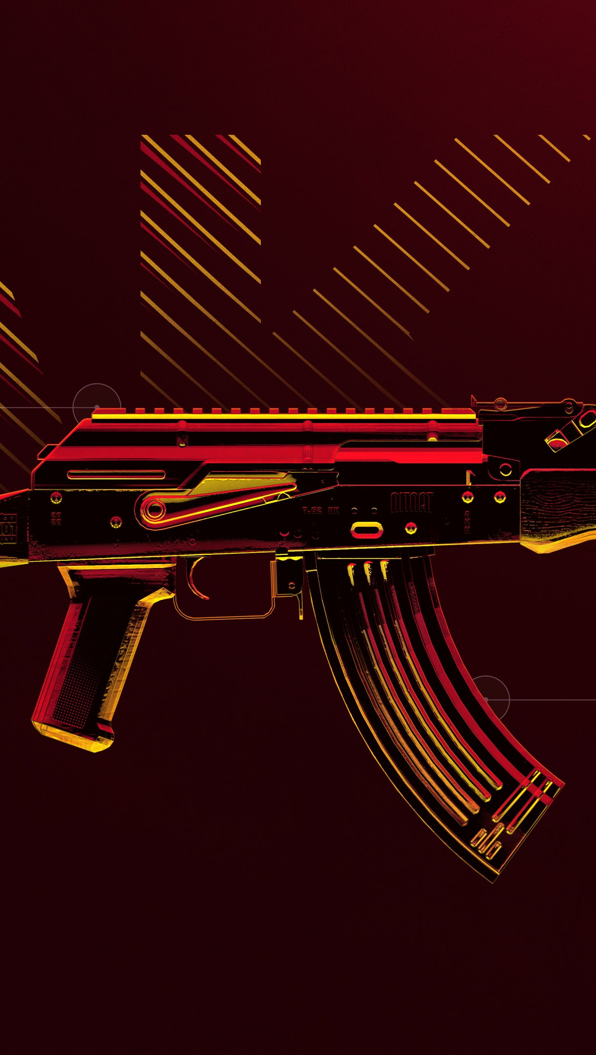Fondos de pantalla Arma AKM de PUBG Vertical