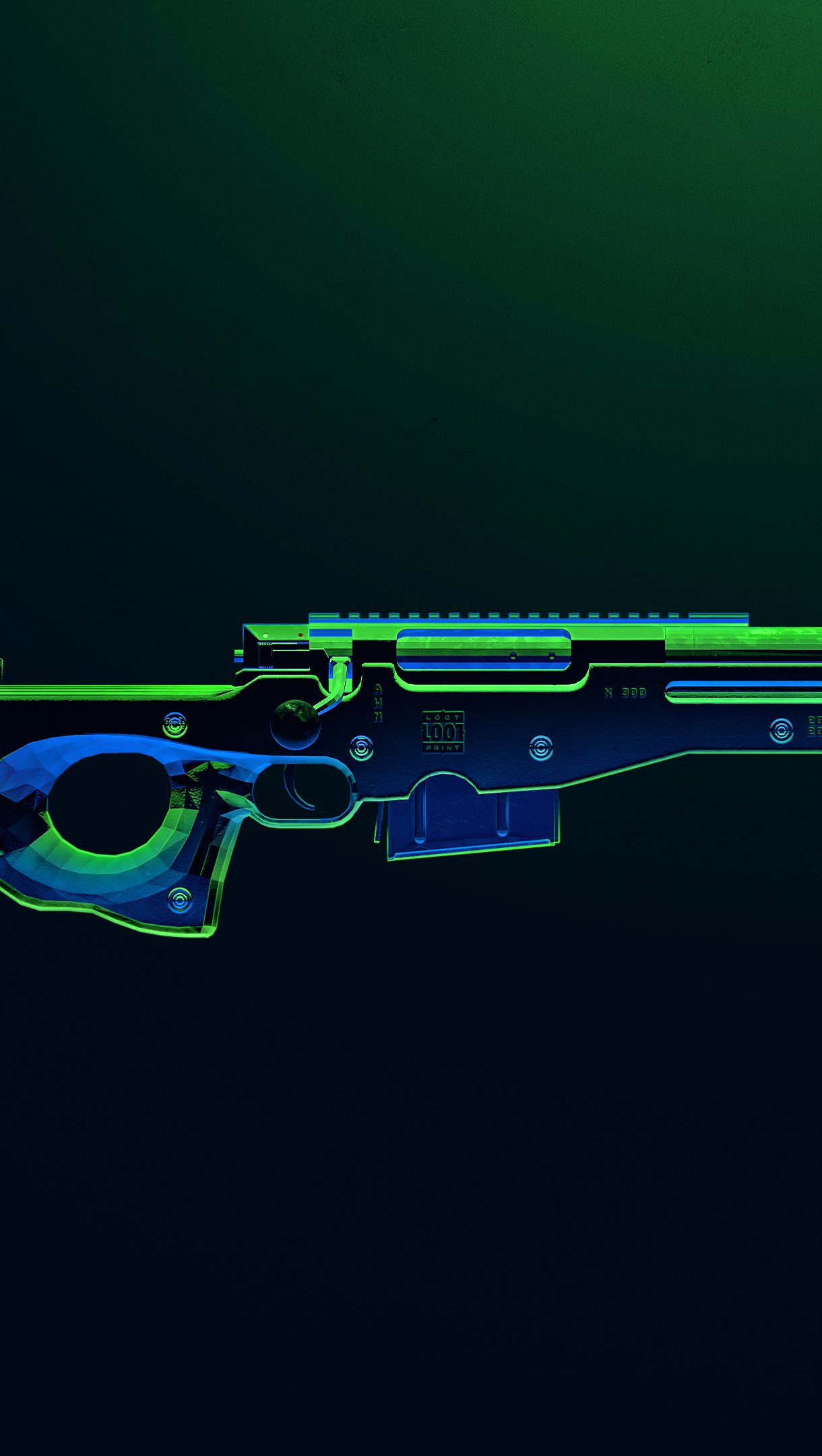 Wallpaper PUBG AWM Weapon Vertical