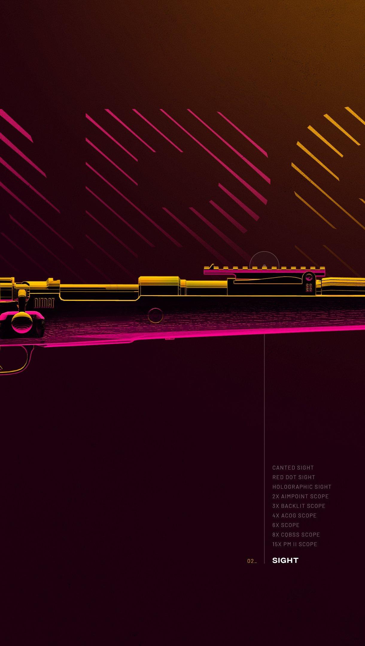 Fondos de pantalla Arma KAR98 de PUBG Vertical