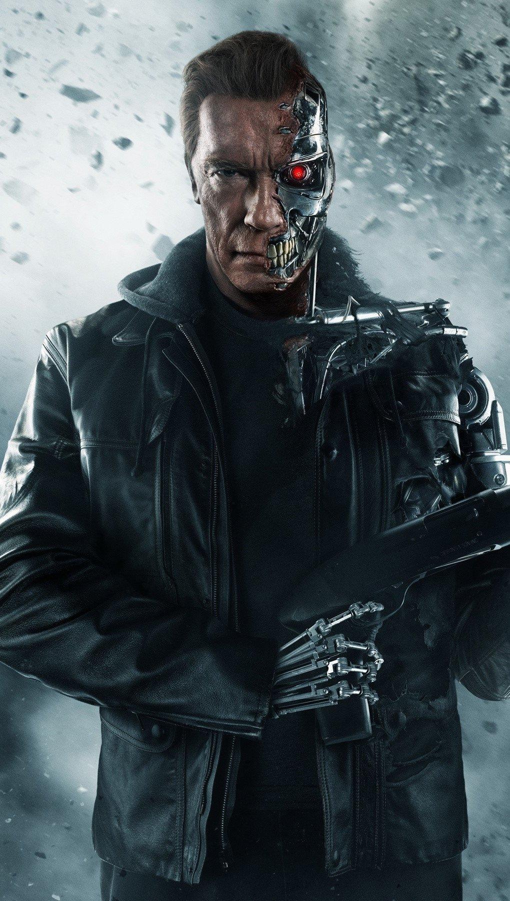 Fondos de pantalla Arnold Schwarzenegger en Terminator Vertical