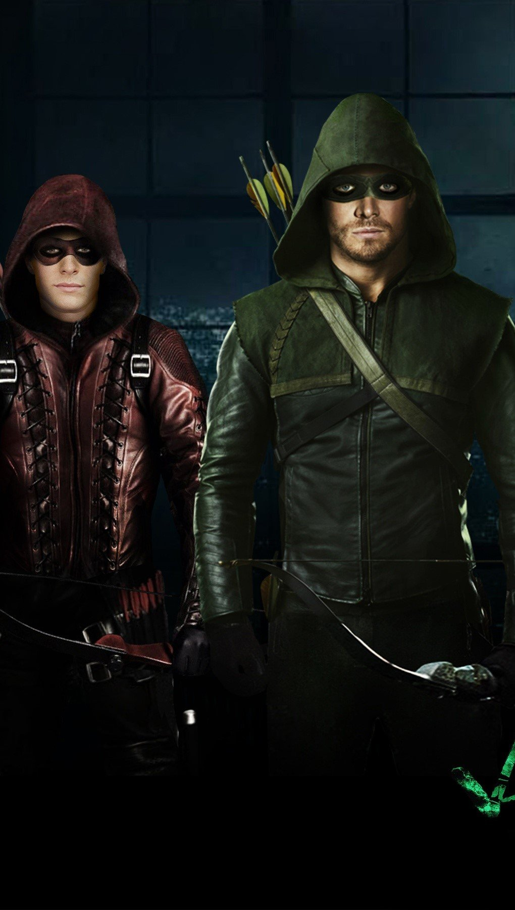 Wallpaper Arrow in Season 3 Vertical