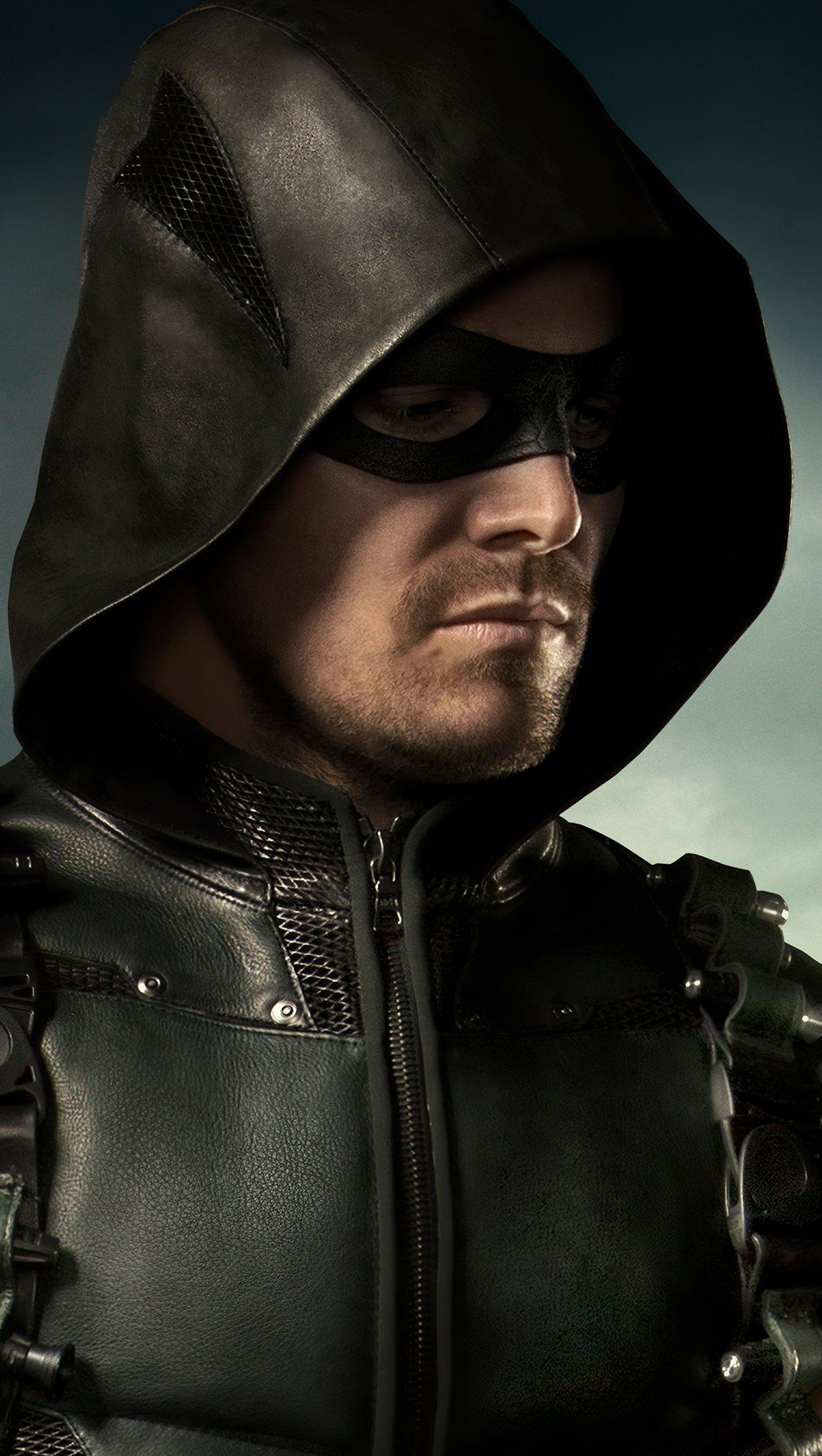 Wallpaper Arrow Season 8 poster Vertical