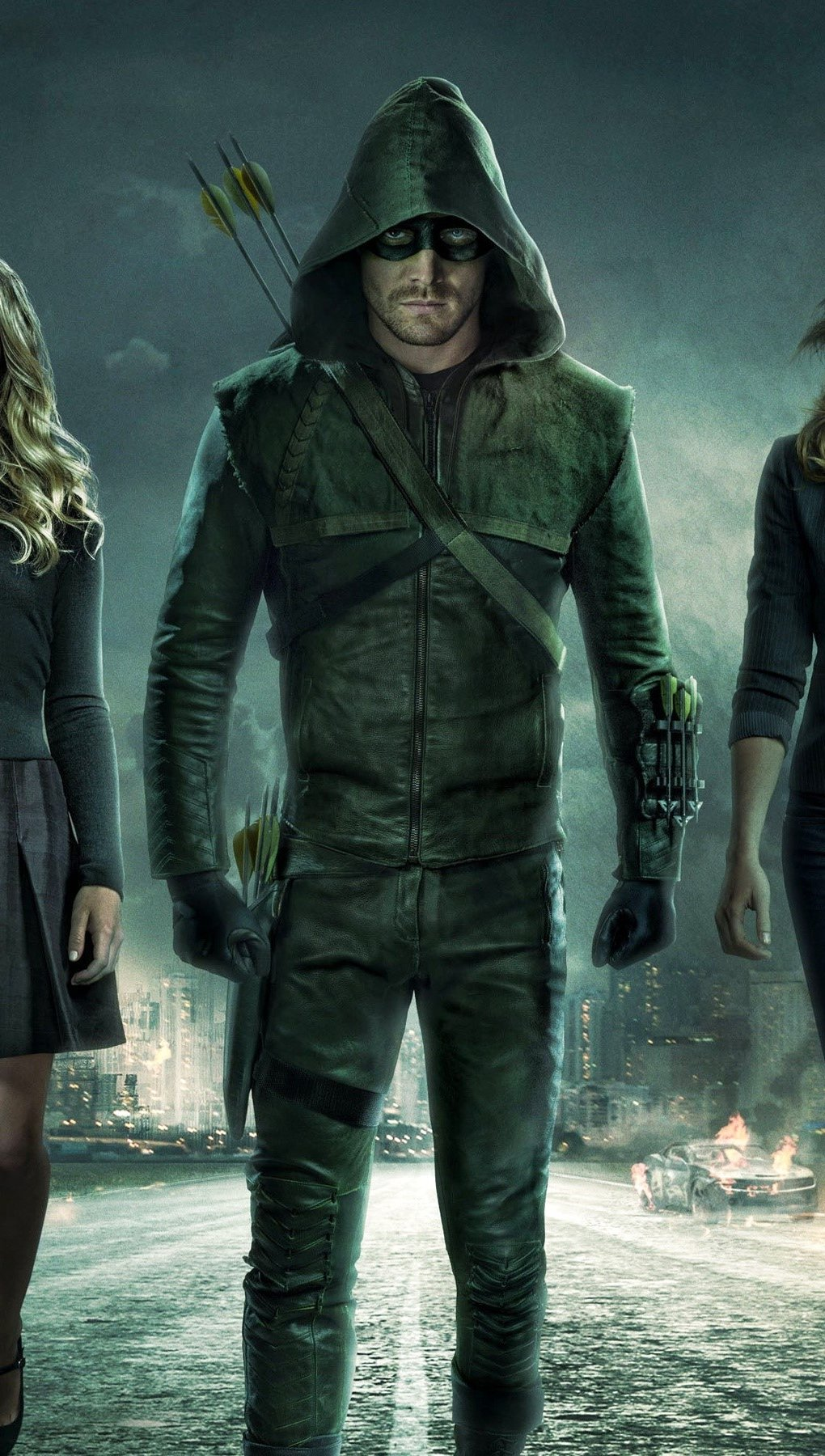Fondos de pantalla Arrow temporada 3 Vertical