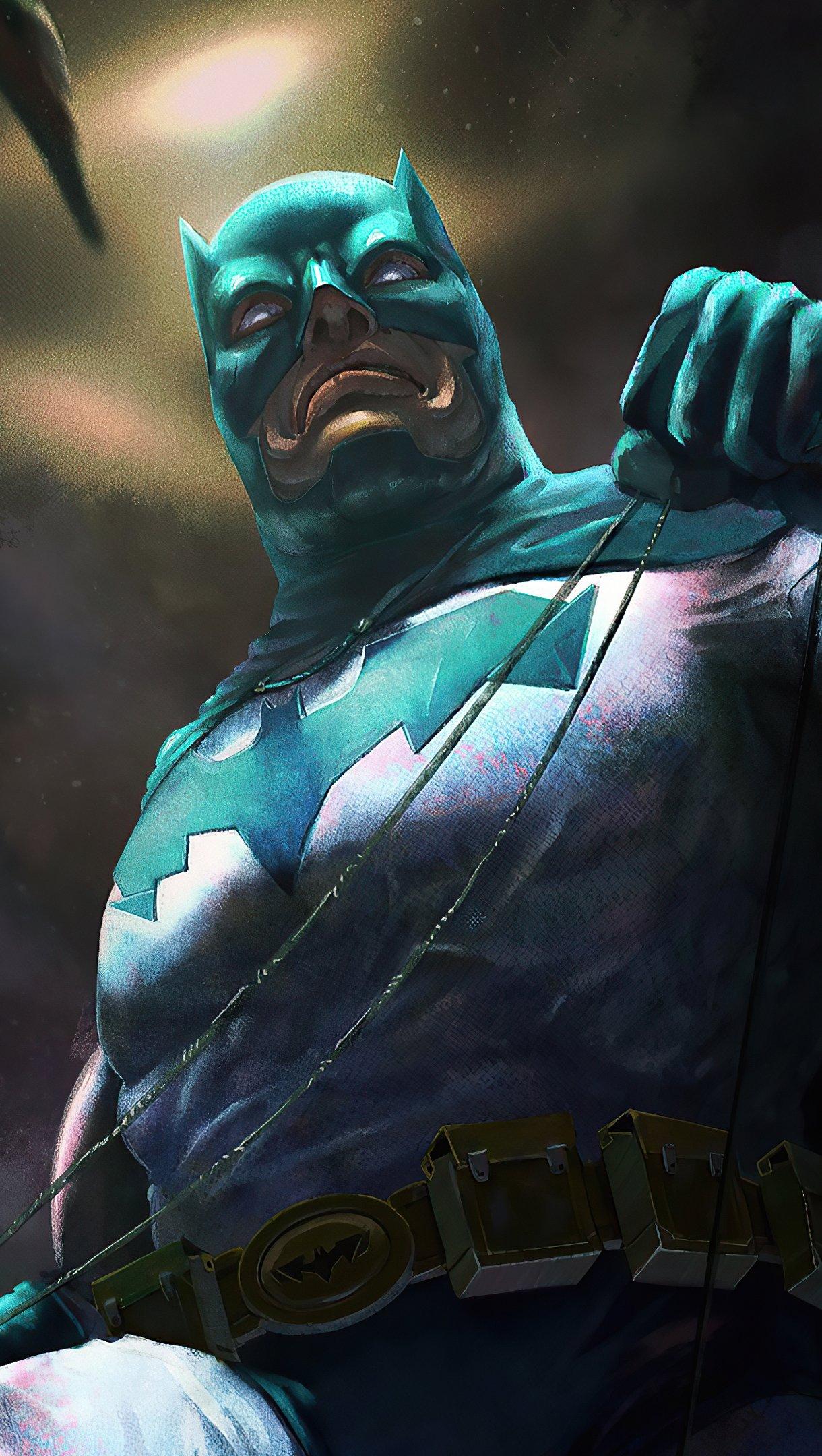 Wallpaper Batman Art 2020 Vertical