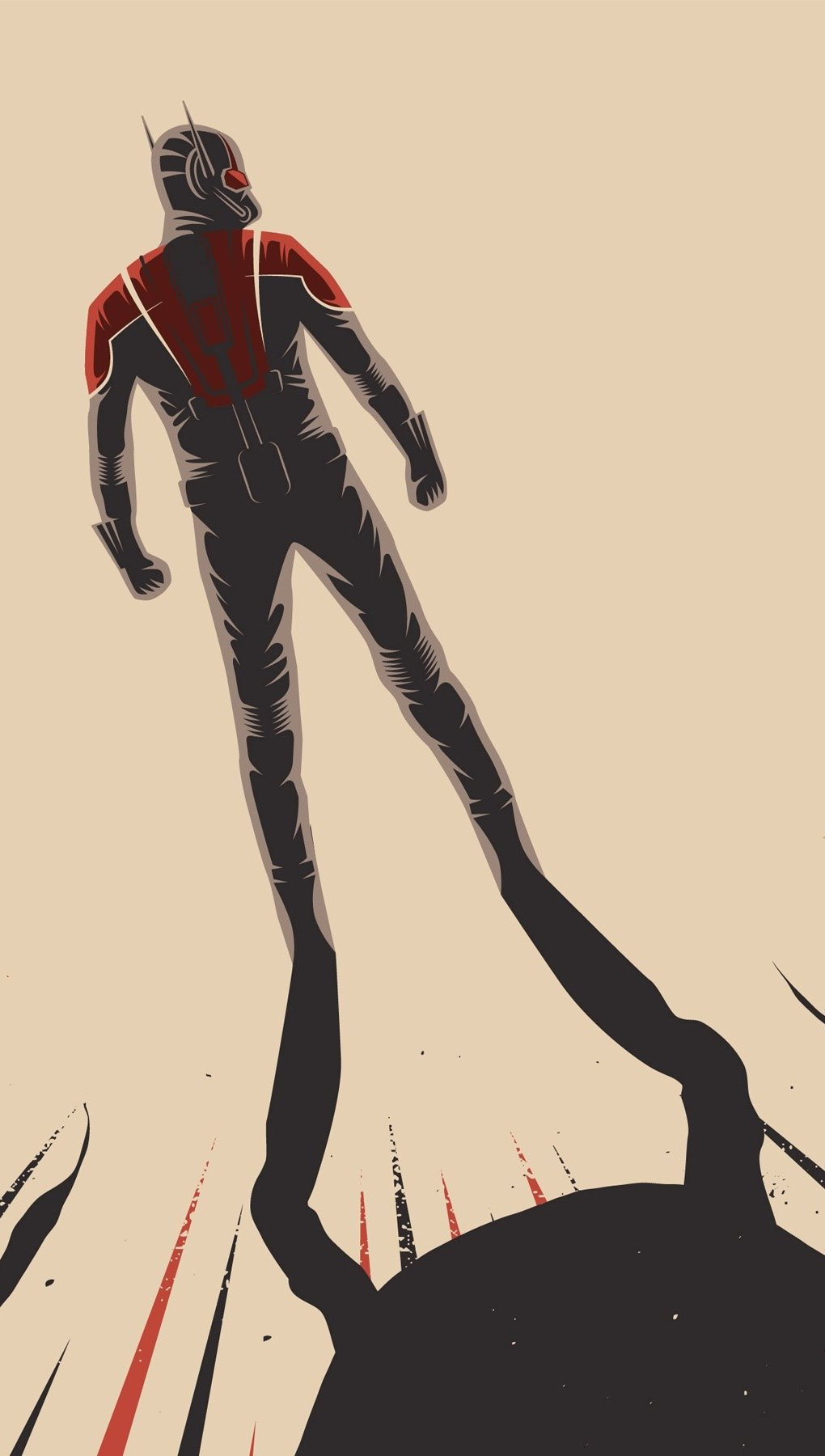 Wallpaper Artwork of Ant man Vertical