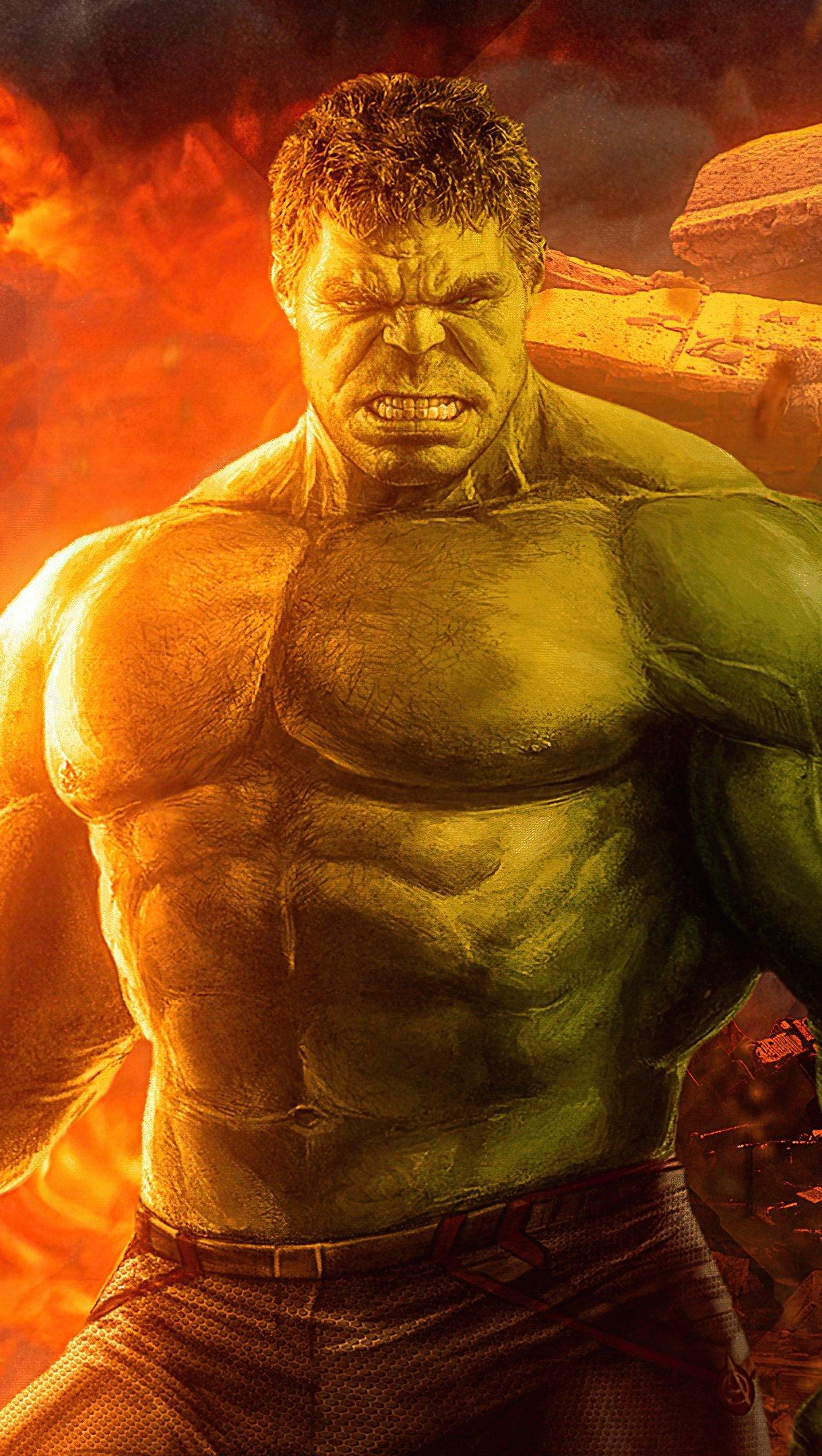 Wallpaper Hulk 2020 Artwork Vertical