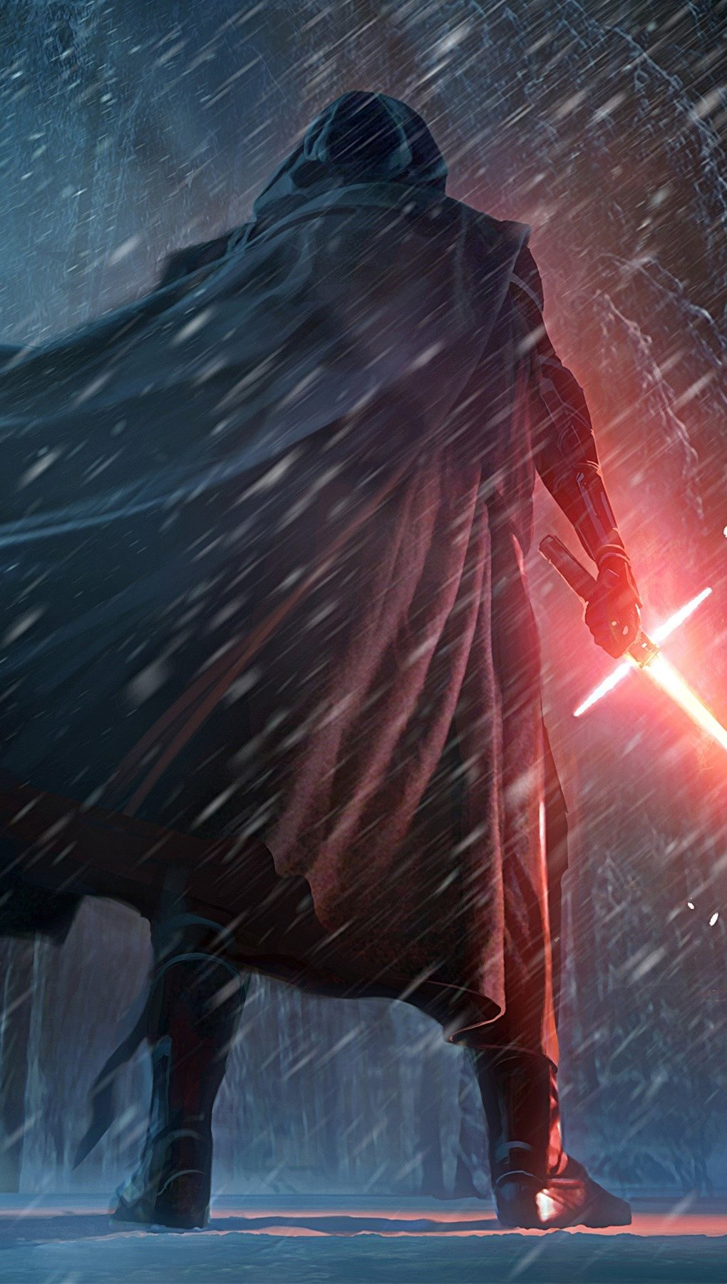 Wallpaper Artwork by Kylo Ren in Star Wars Vertical