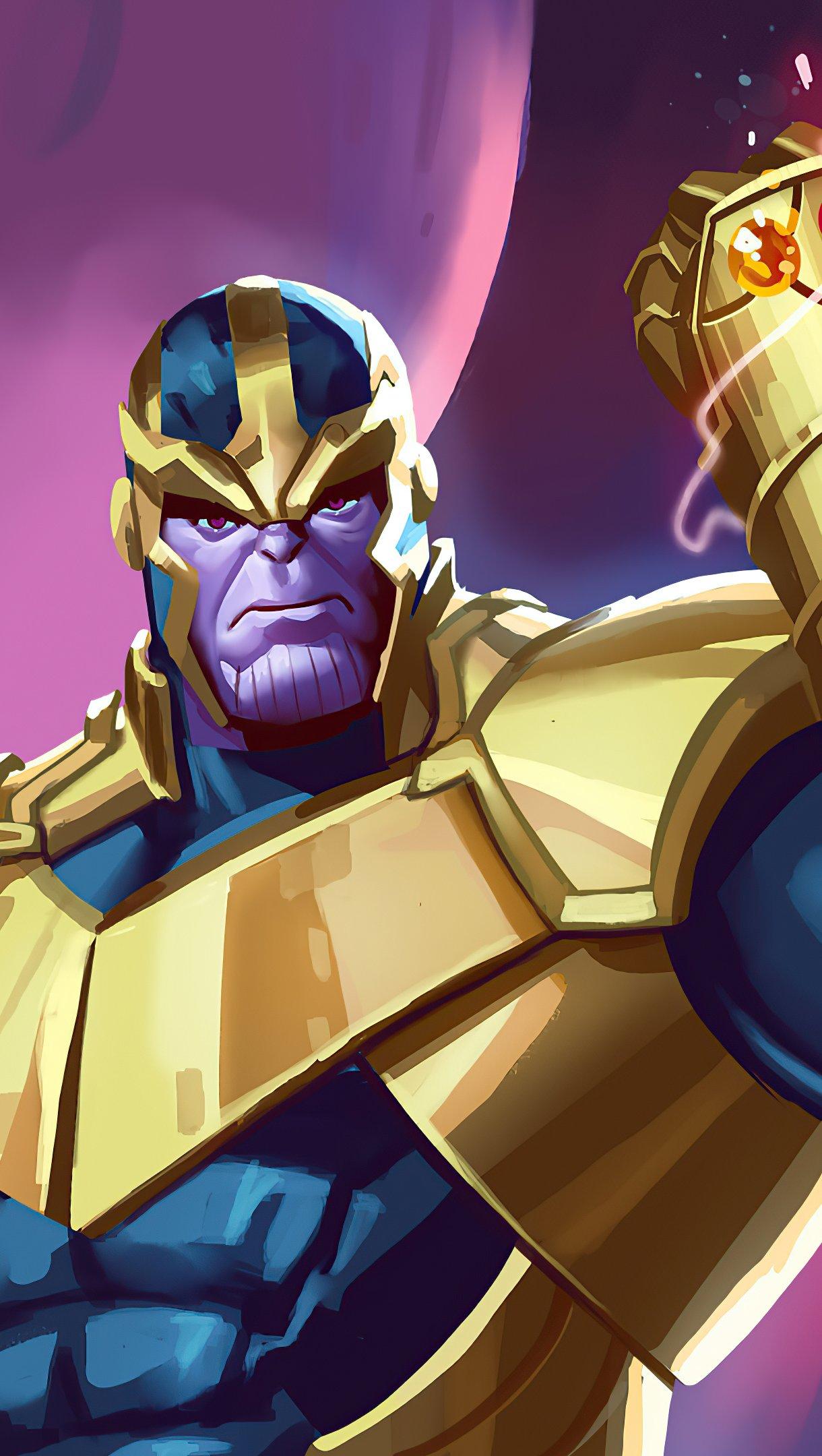 Wallpaper Thanos Artwork 2020 Vertical