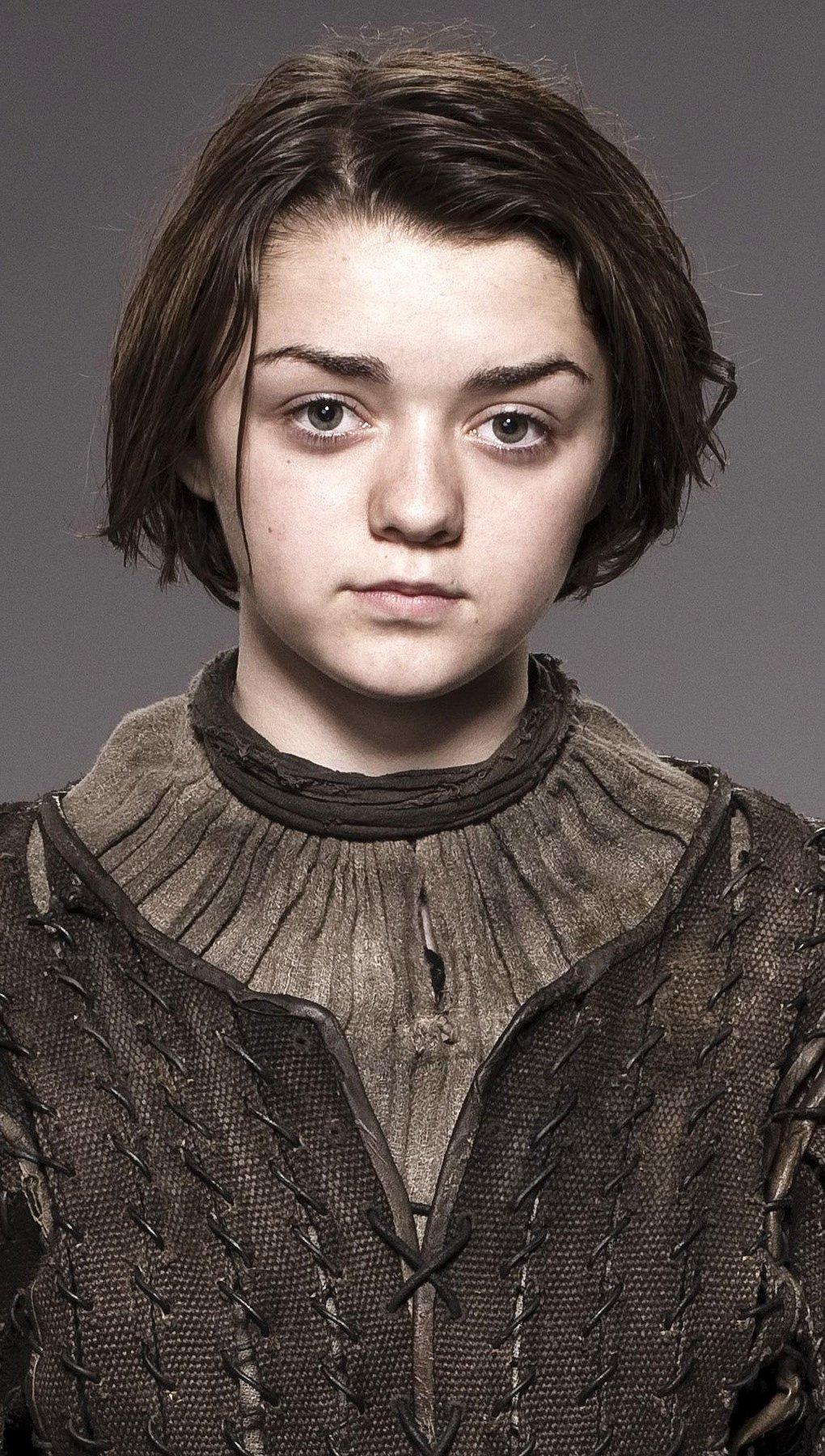 Wallpaper Arya Stark from Game Of Thrones Vertical
