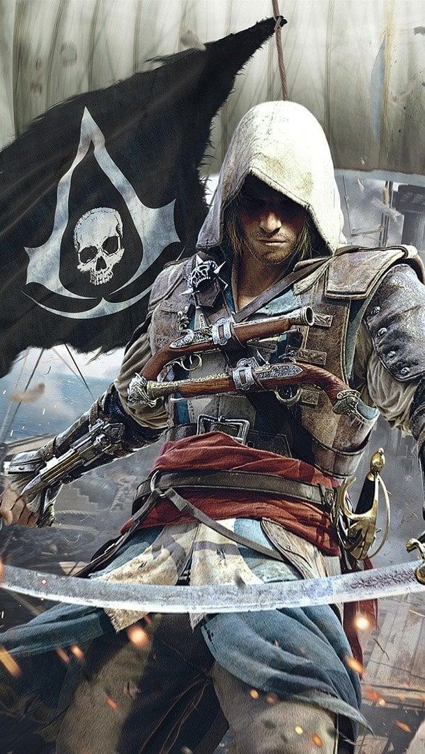 Wallpaper Assassins Creed 4 Black Flag Vertical