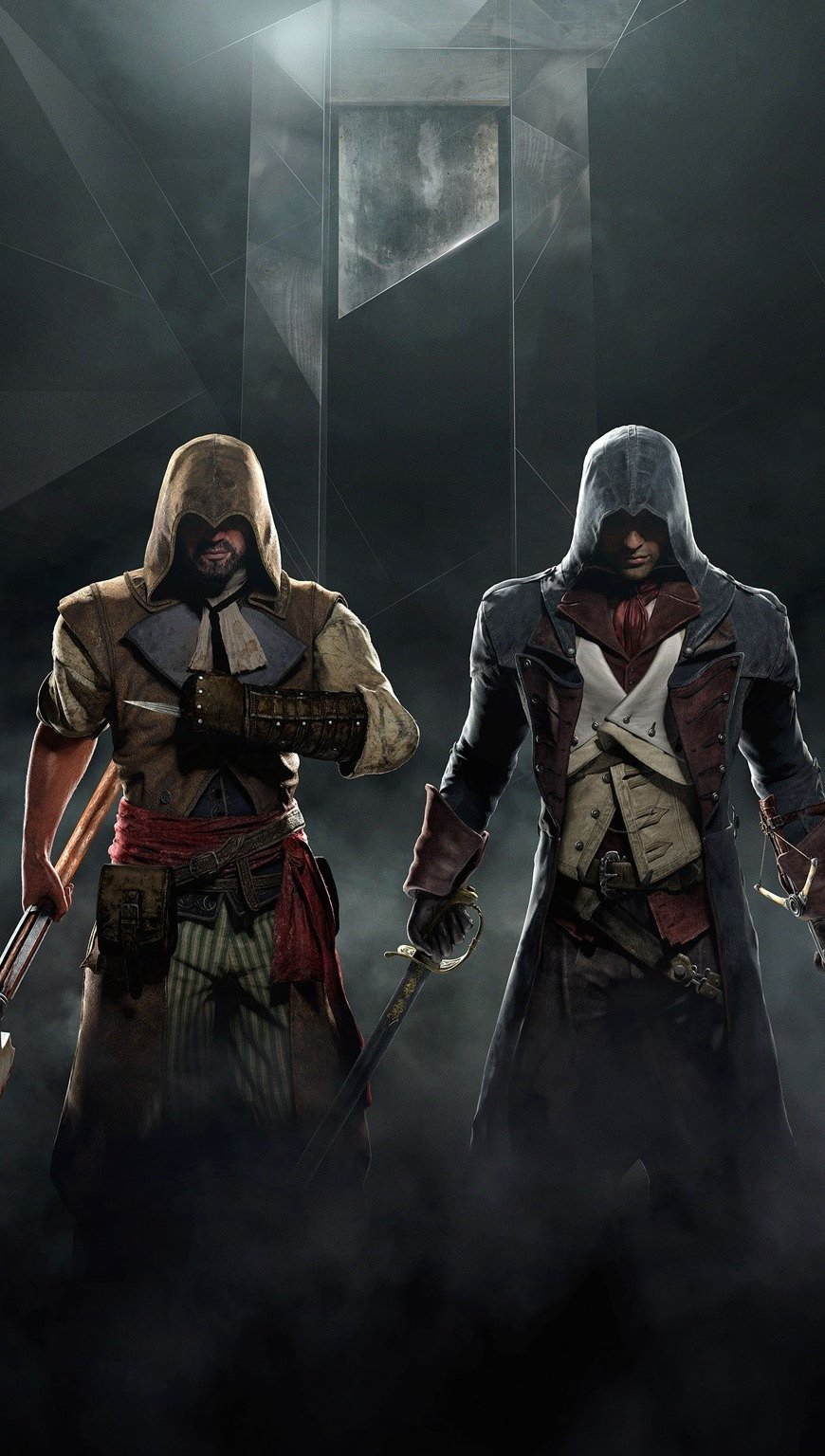 Fondos de pantalla Assassins Creed Unity Juego Vertical