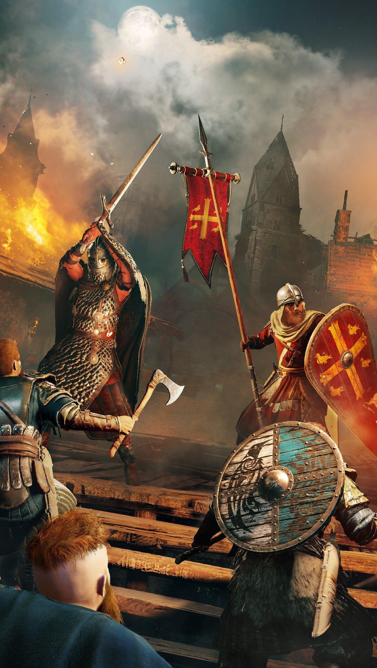 Fondos de pantalla Assassins Creed Valhalla Personaje Eivor Vertical