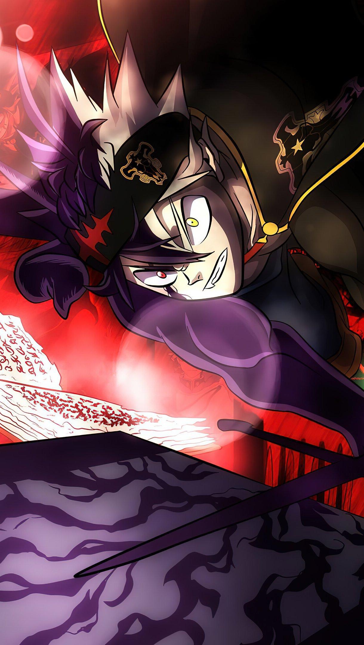 Fondos de pantalla Anime Asta Yuno Noelle Black Clover Vertical