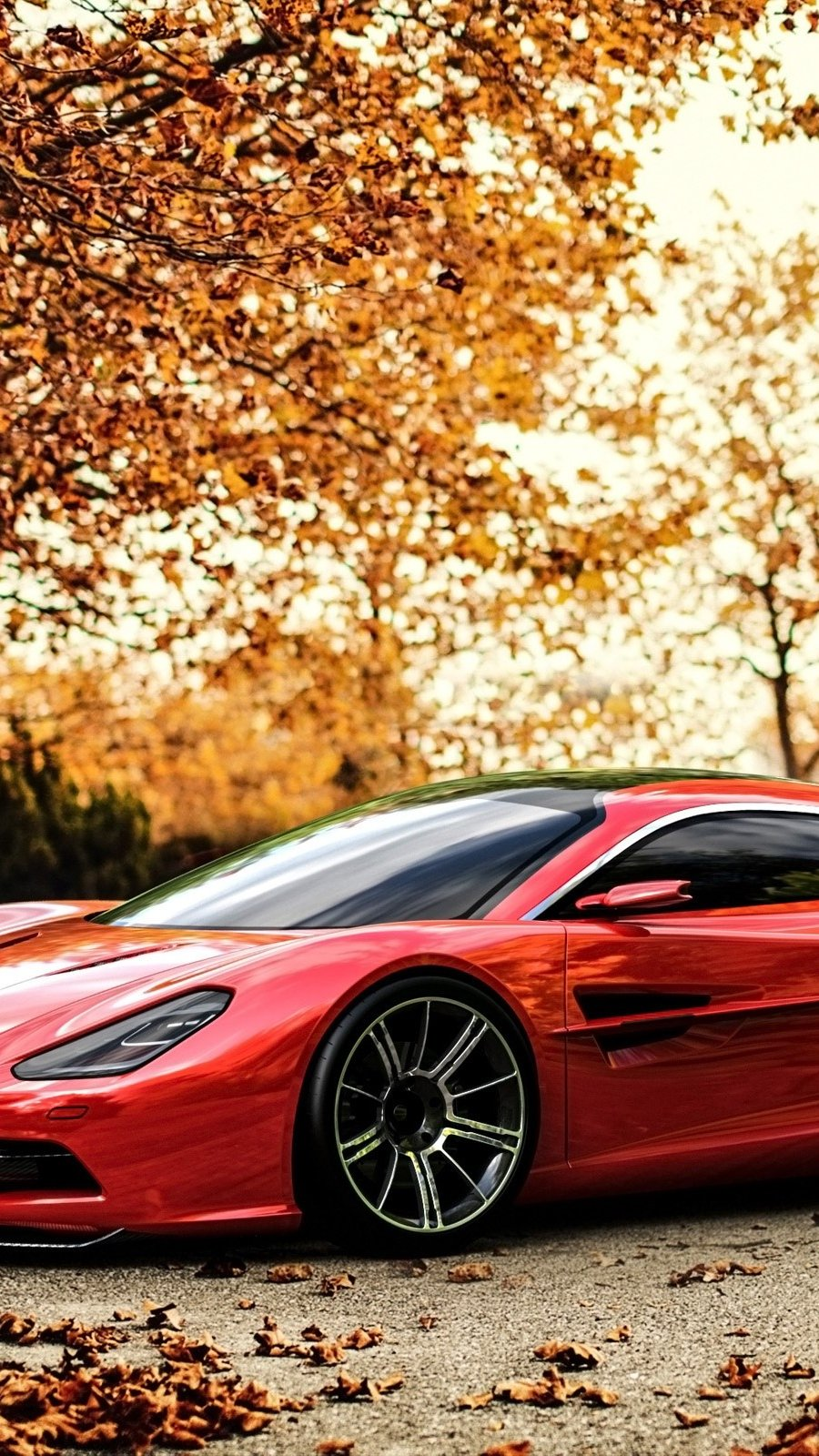 Wallpaper Aston Martin DBC concept Vertical