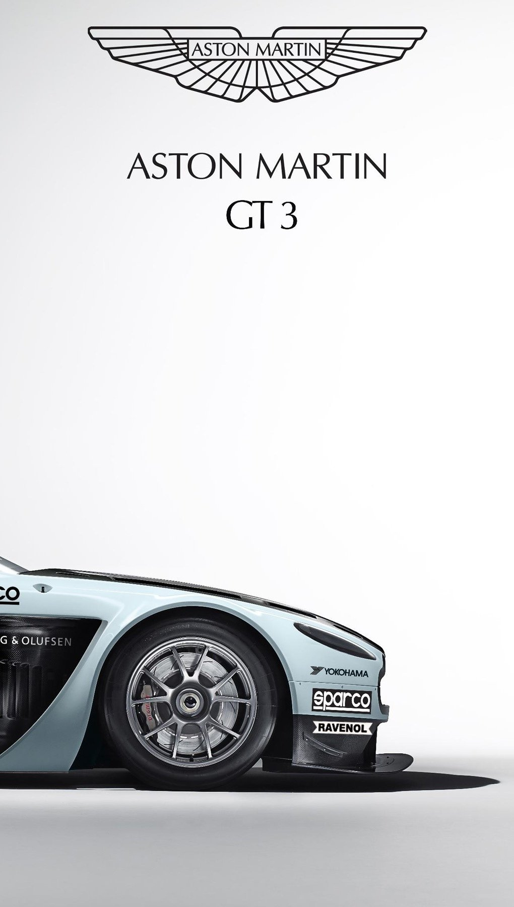 Wallpaper Aston Martin V12 vantage GT3 Vertical