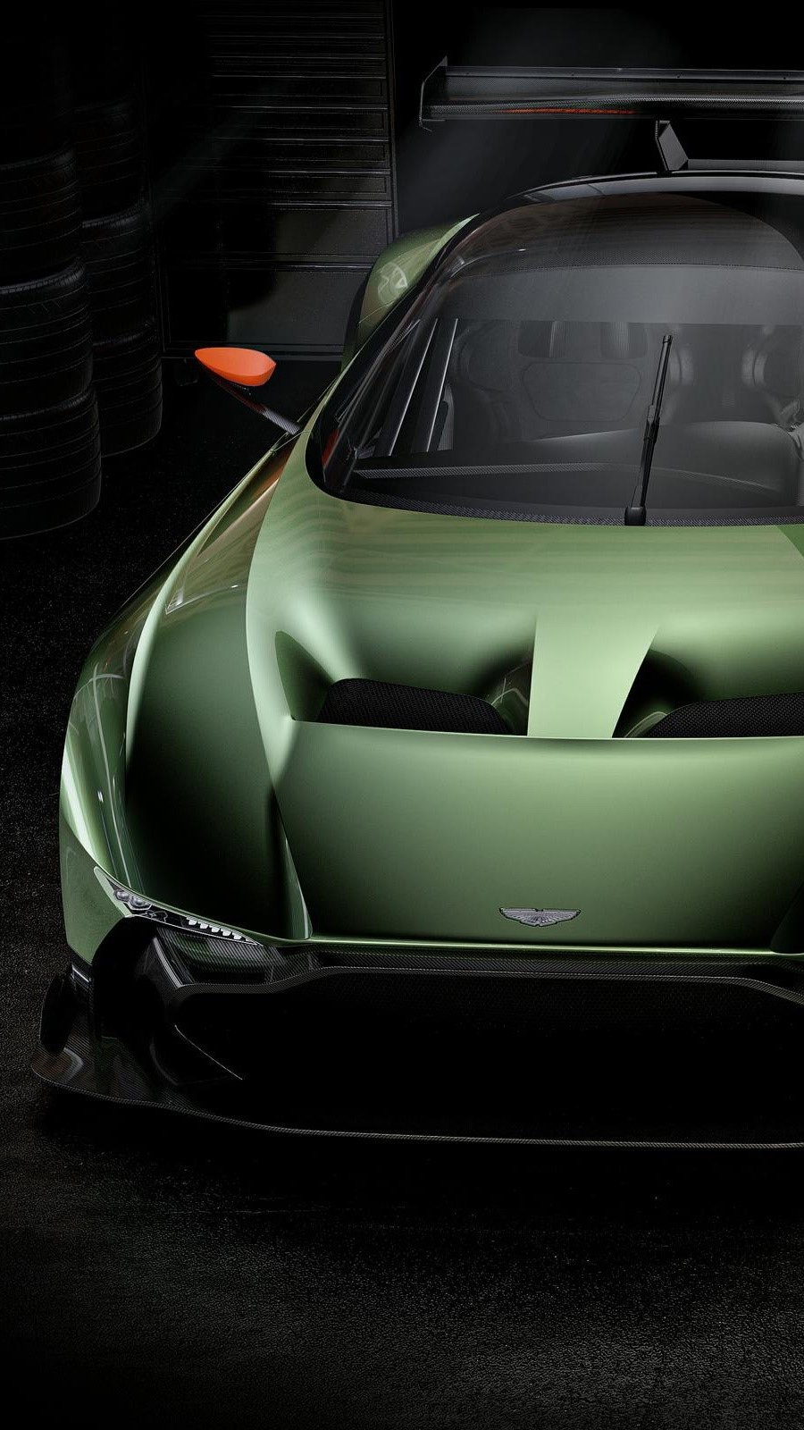 Wallpaper Aston Martin Vulcan Vertical