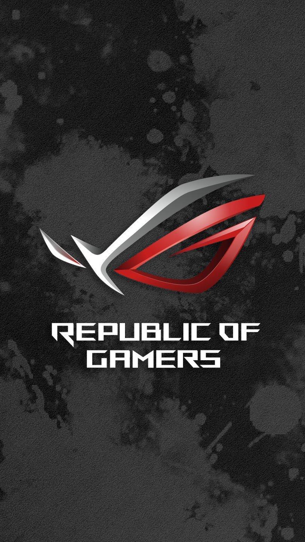 Fondos de pantalla Asus ROG Logo Vertical