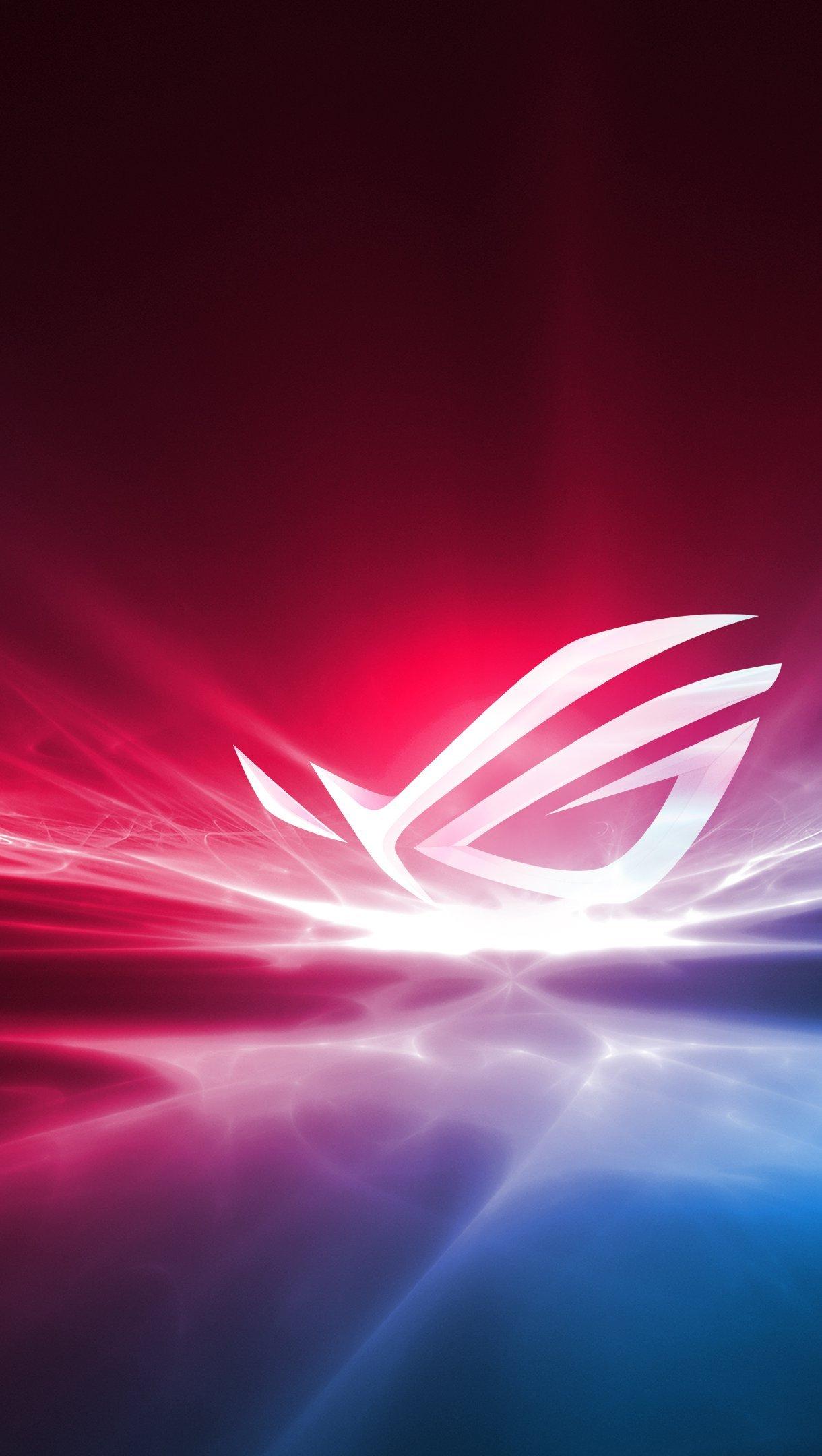 Fondos de pantalla Asus ROG Republic of Gamers Logo Vertical