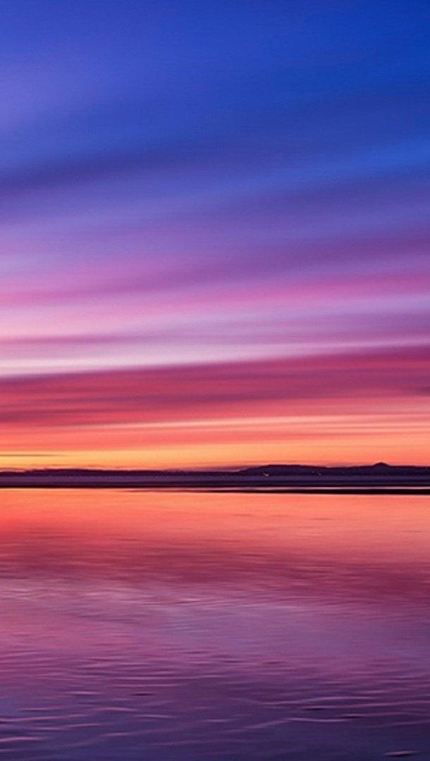 Wallpaper Sunset Vertical