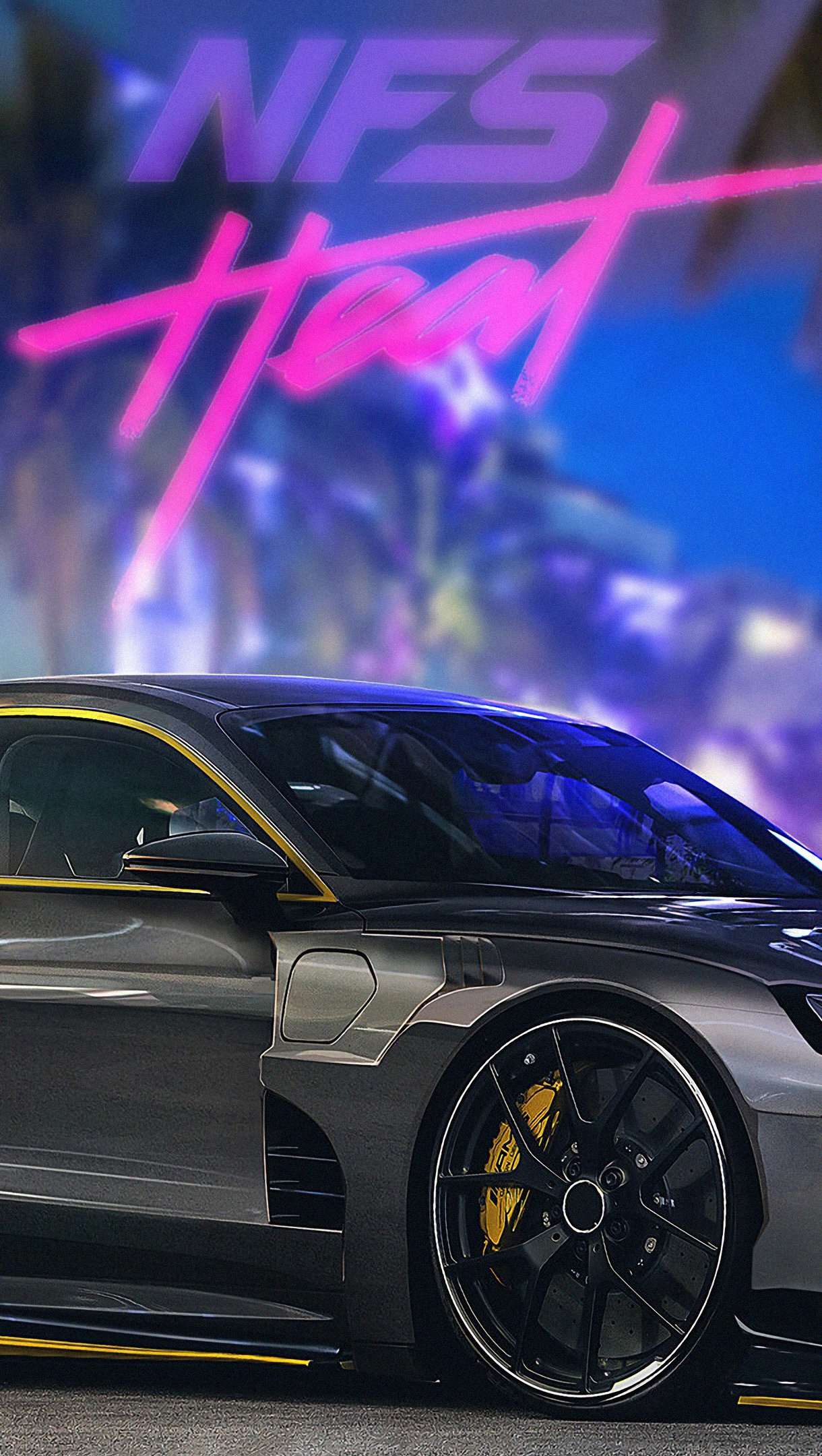 Fondos de pantalla Audi E-TRON NFS Heat Vertical