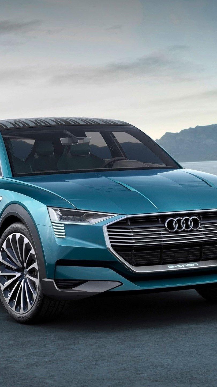 Wallpaper Audi E Tron quattro concept Vertical