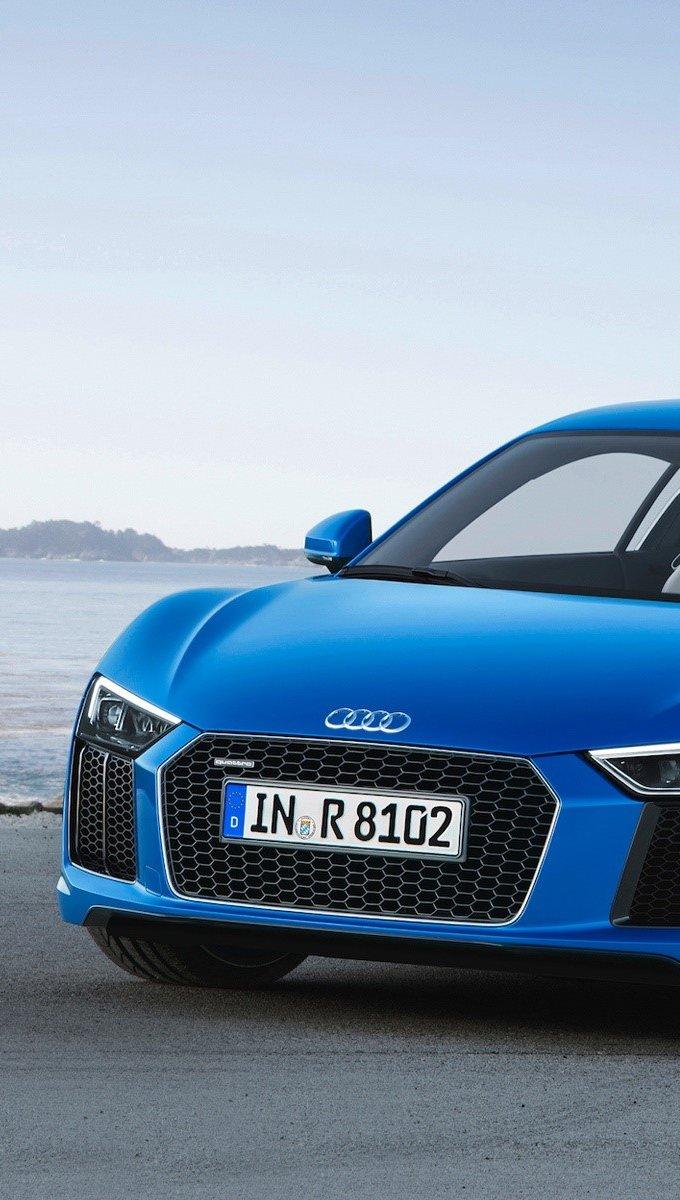 Fondos de pantalla Audi R8 2016 Vertical