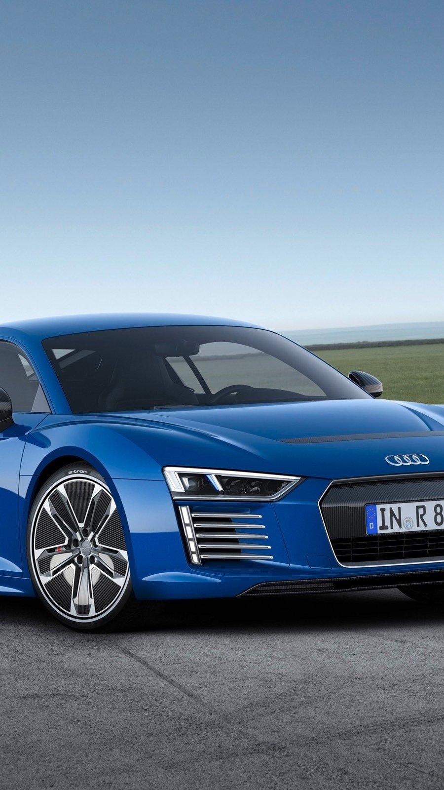Wallpaper Audi R8 E tron Vertical