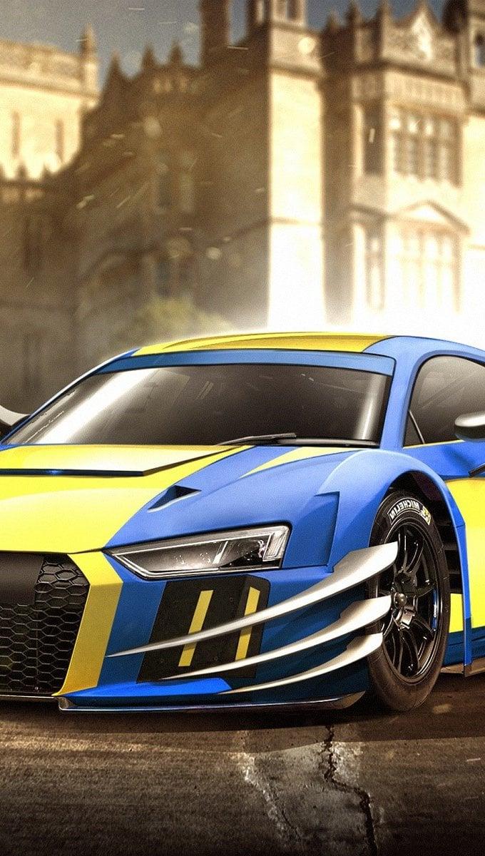 Wallpaper Audi R8 Wolverine Vertical