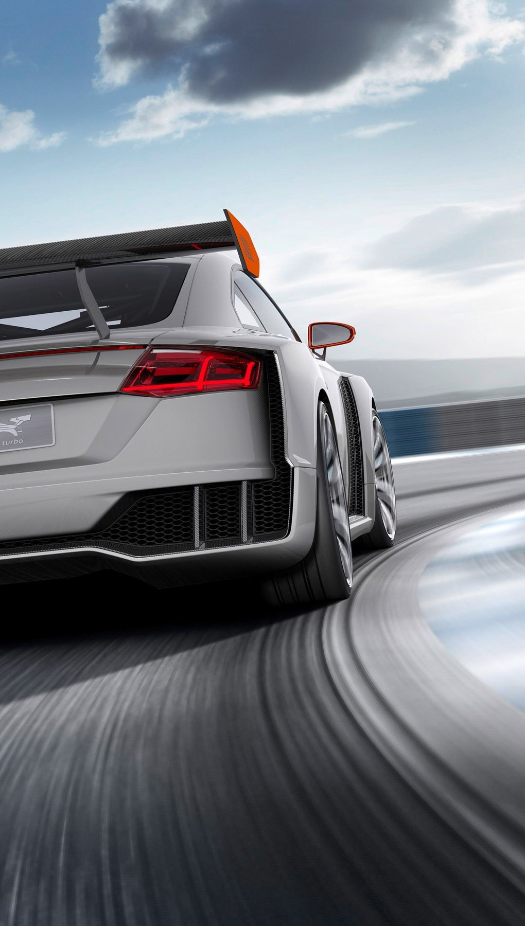 Fondos de pantalla Audi TT Clubsport Turbo Concept Vertical