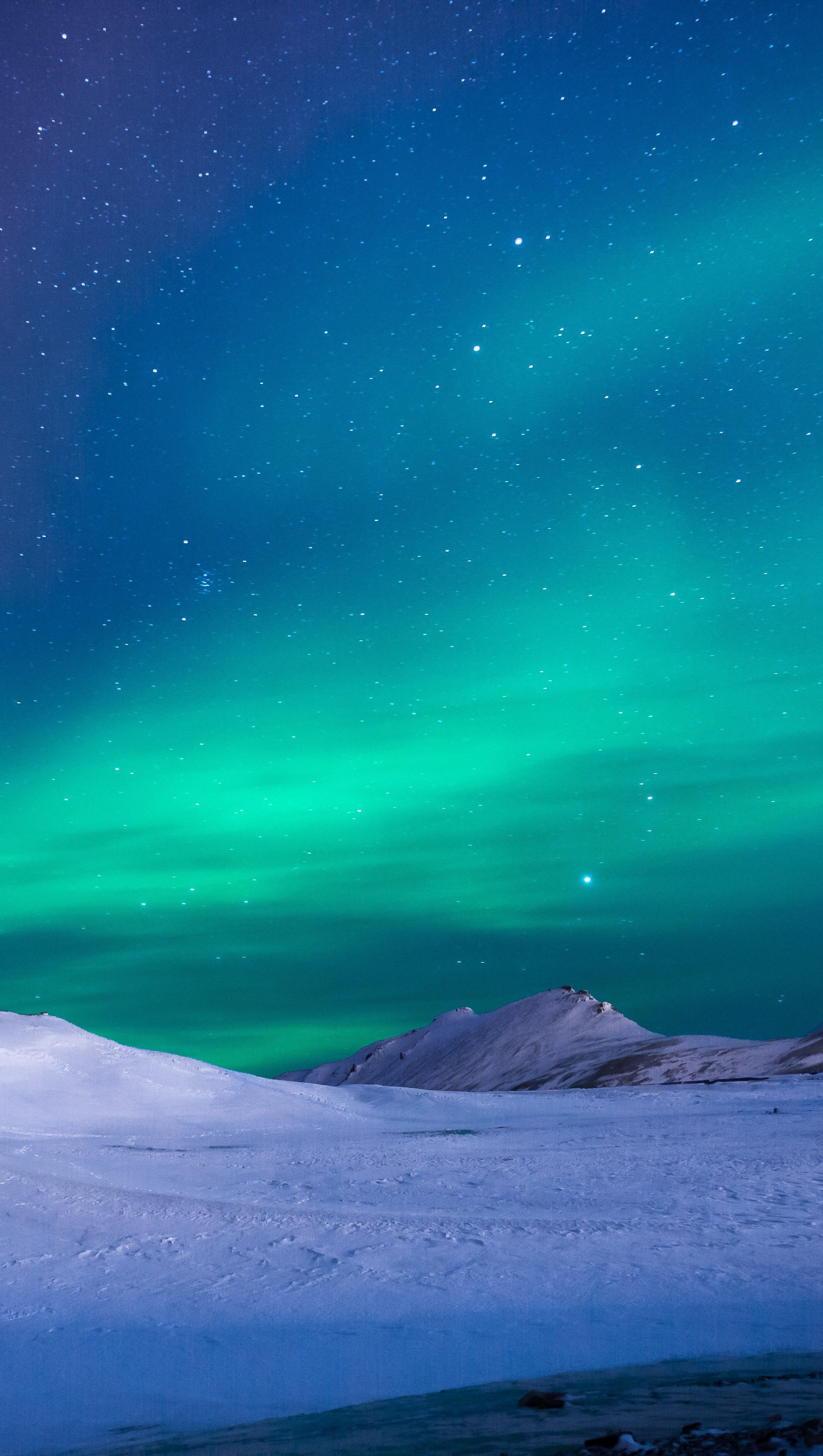 Fondos de pantalla Aurora borealis Vertical