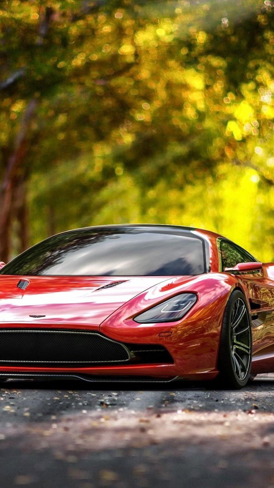 Wallpaper Auto Aston Martin DBC Vertical