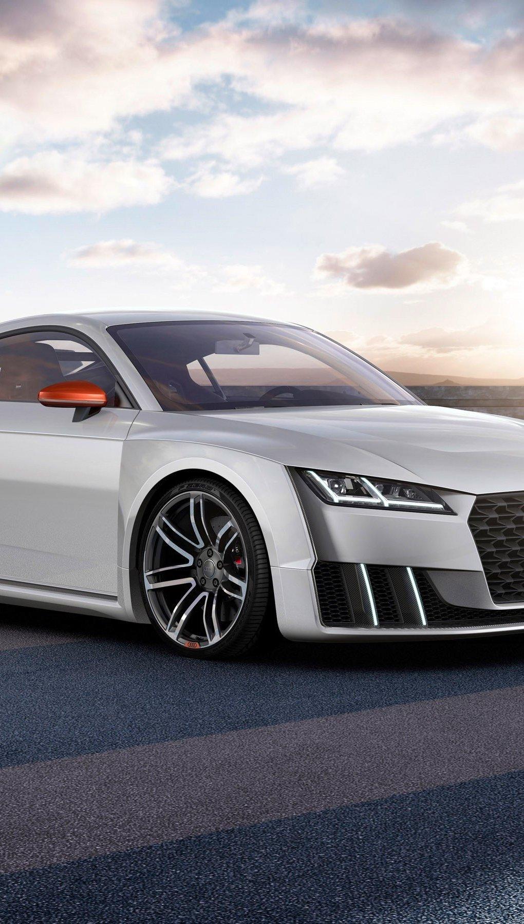 Wallpaper Auto Audi TT Clubsport Turbo Concept Vertical