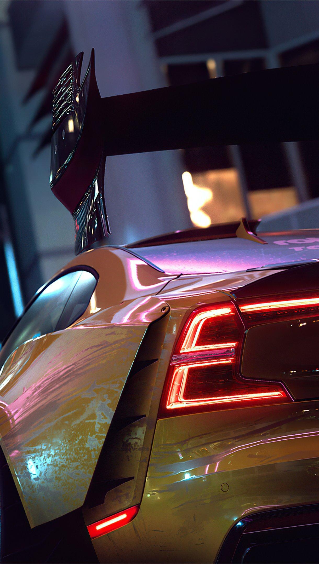 Wallpaper NFS heat car Vertical