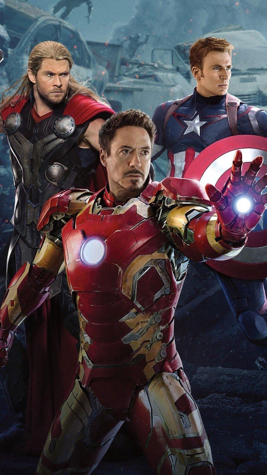 Fondos de pantalla Avengers 2 Vertical
