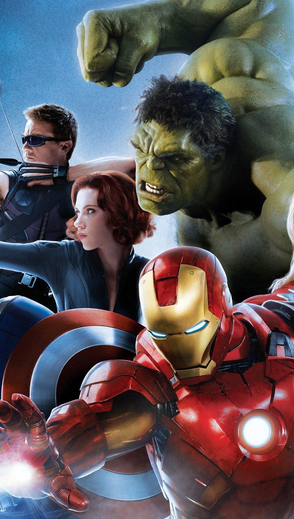 Fondos de pantalla Avengers 2 Age of Ultron Vertical