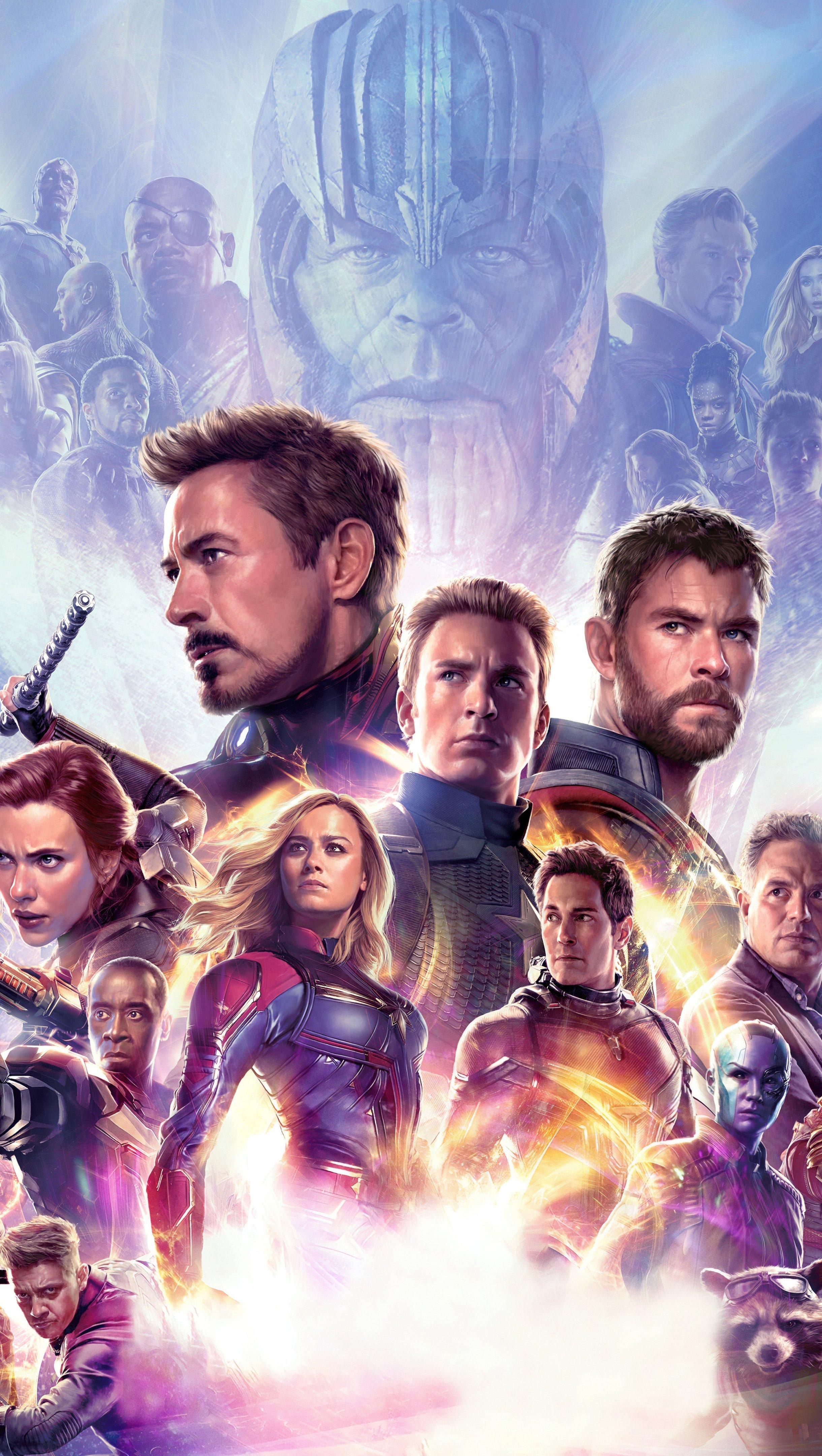 Fondos de pantalla Avengers Endgame Vertical
