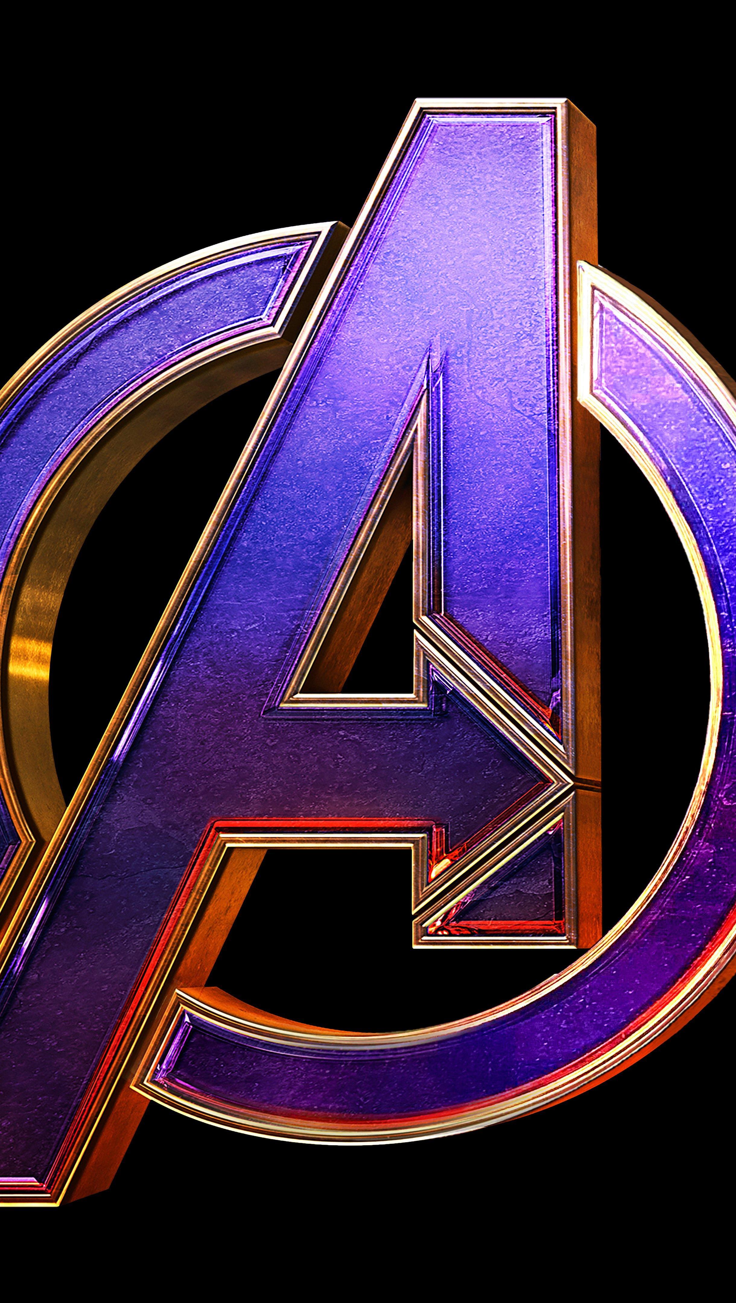 Wallpaper Avengers Endgame Logo Vertical