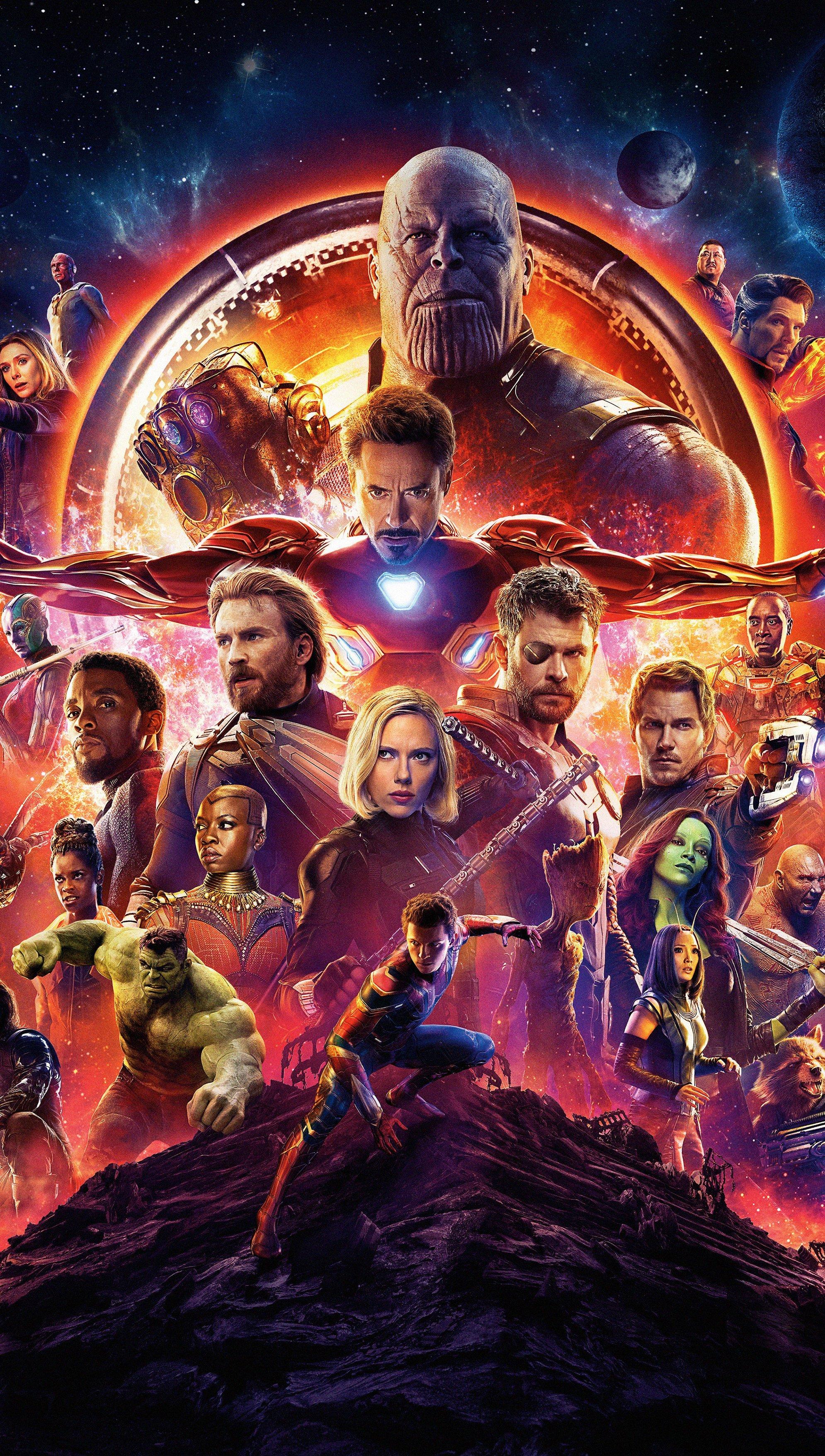 Fondos de pantalla Avengers Infinity War Vertical