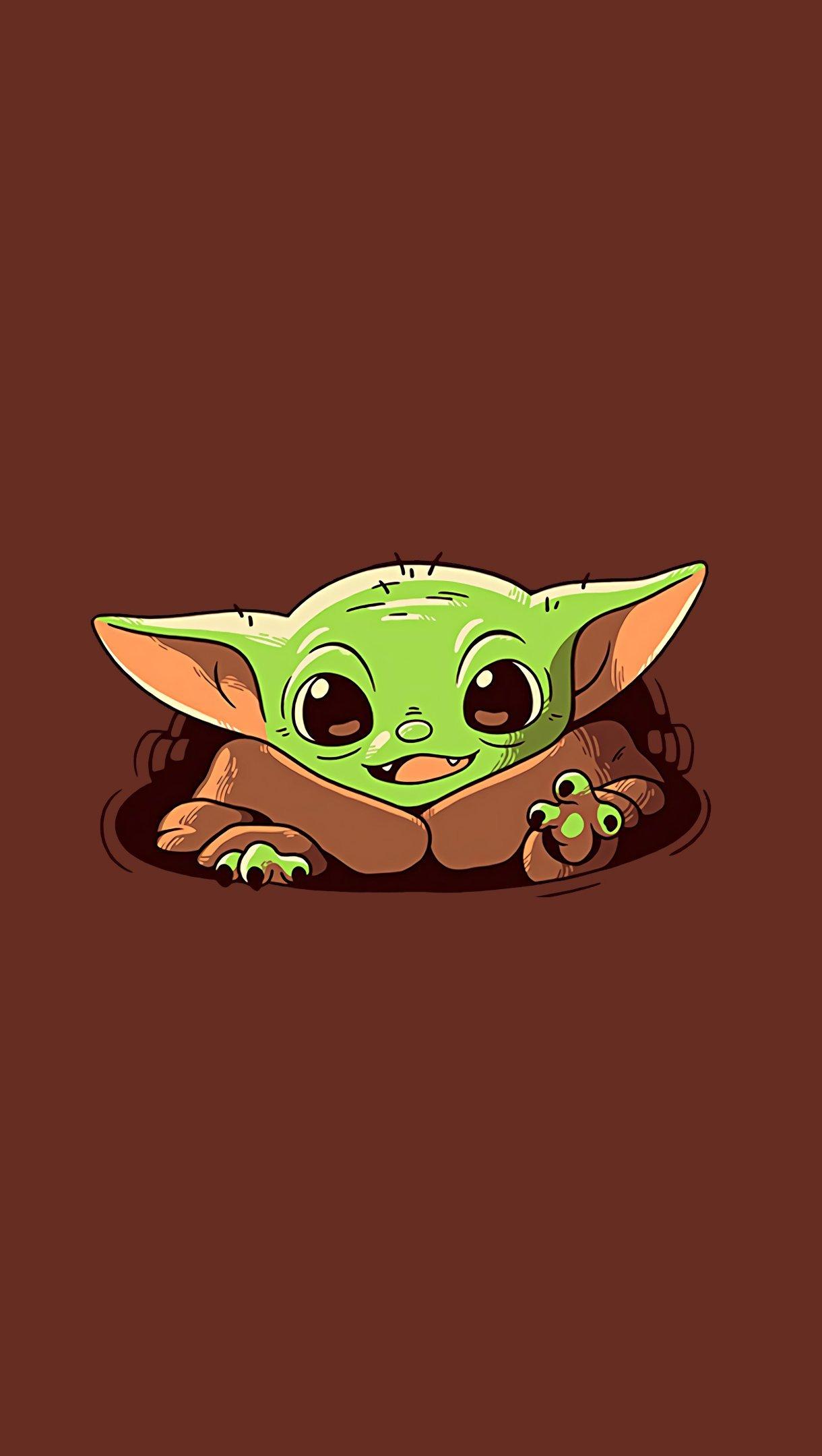 Fondos de pantalla Baby Yoda El Mandaloriano Vertical